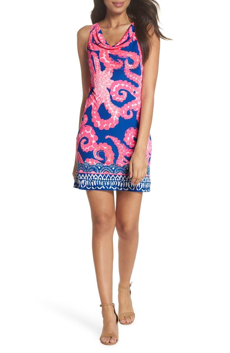 Kyra Silk Shift Dress