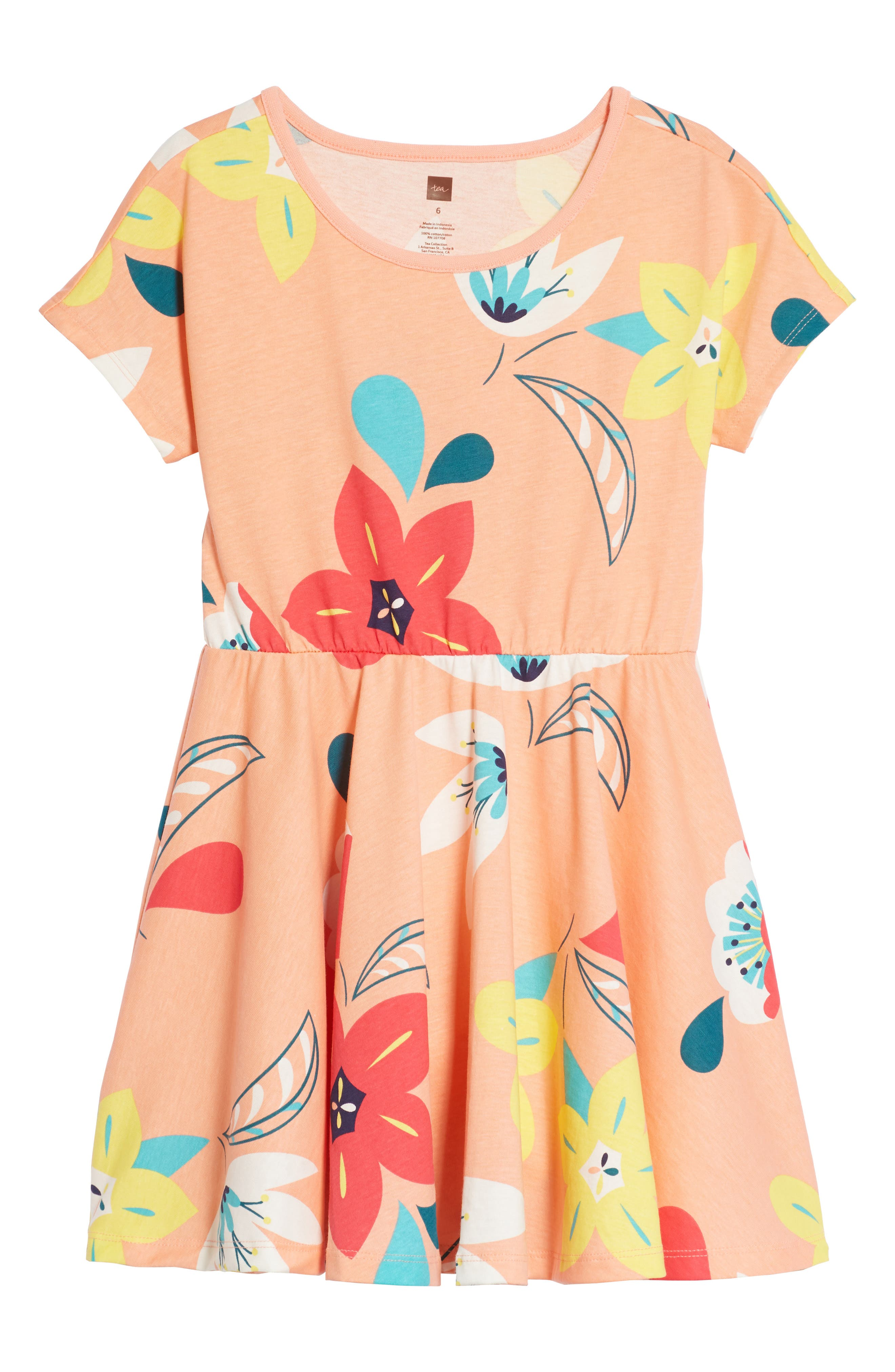 Tea Collection Stripe Dress (Toddler Girls, Little Girls & Big Girls)