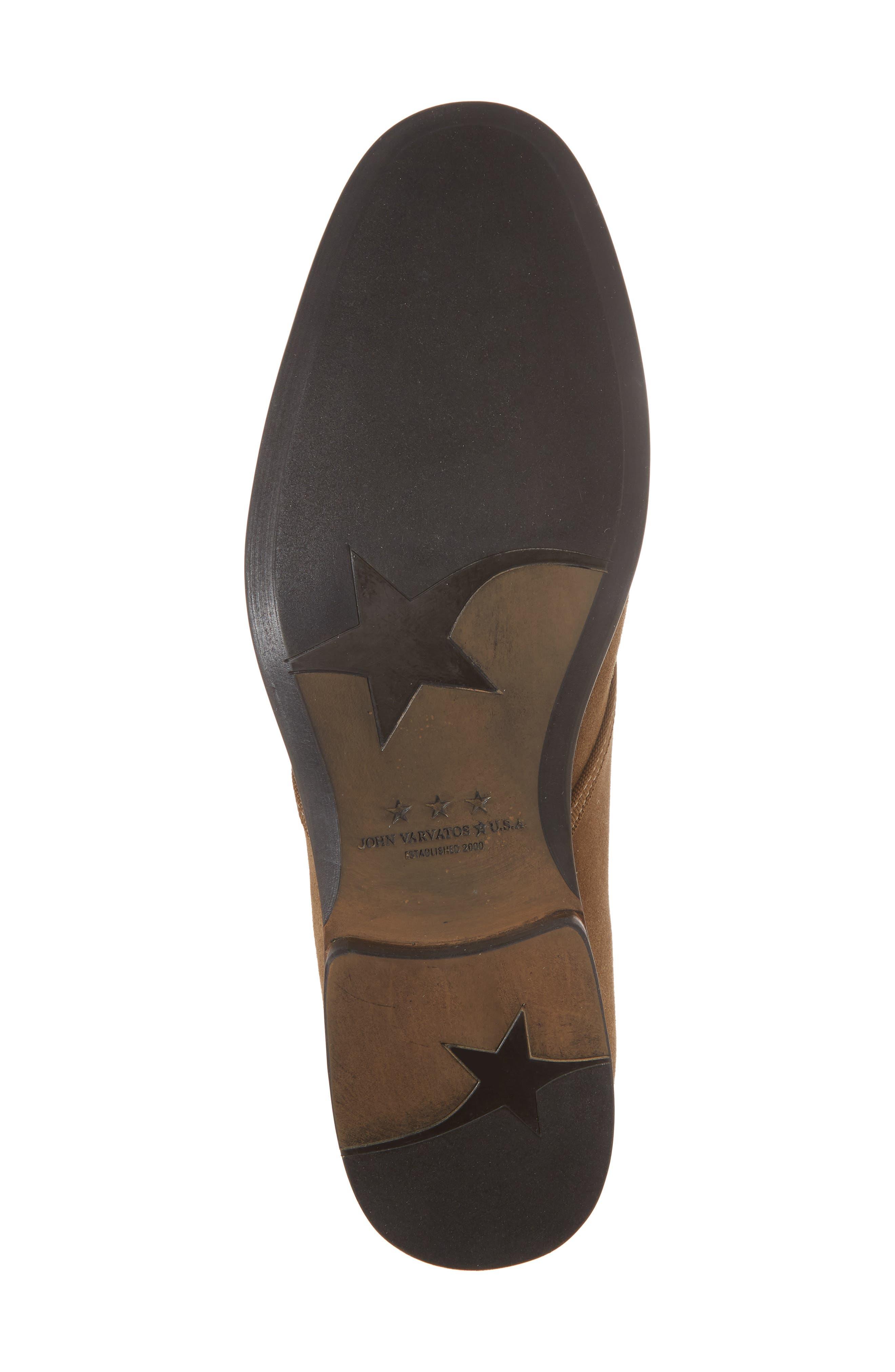 John Varvatos Star USA Seagher Chukka Boot,                             Alternate thumbnail 6, color,                             Brownstone