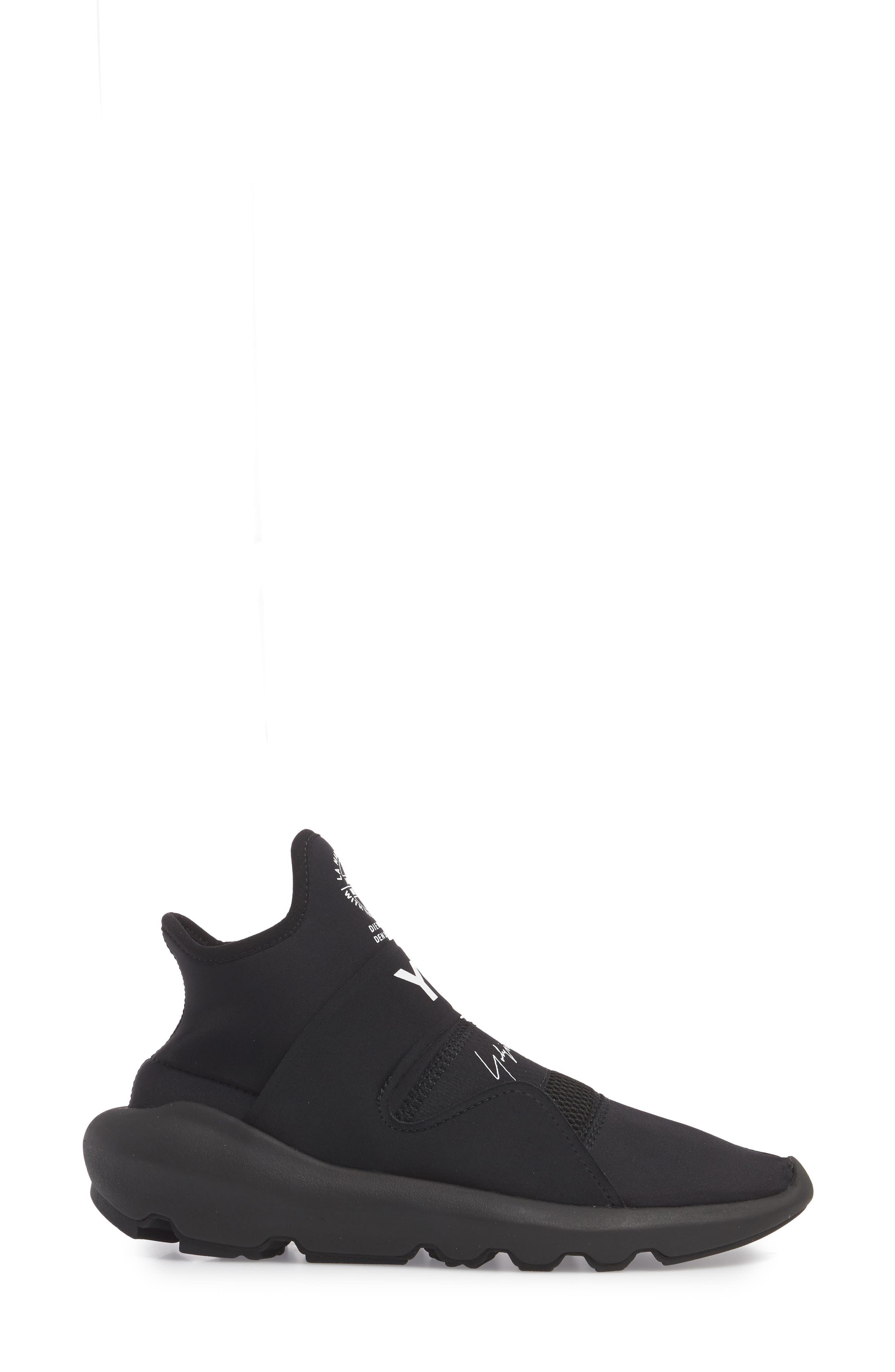 Superbou Sneaker,                             Alternate thumbnail 3, color,                             Black / Core White
