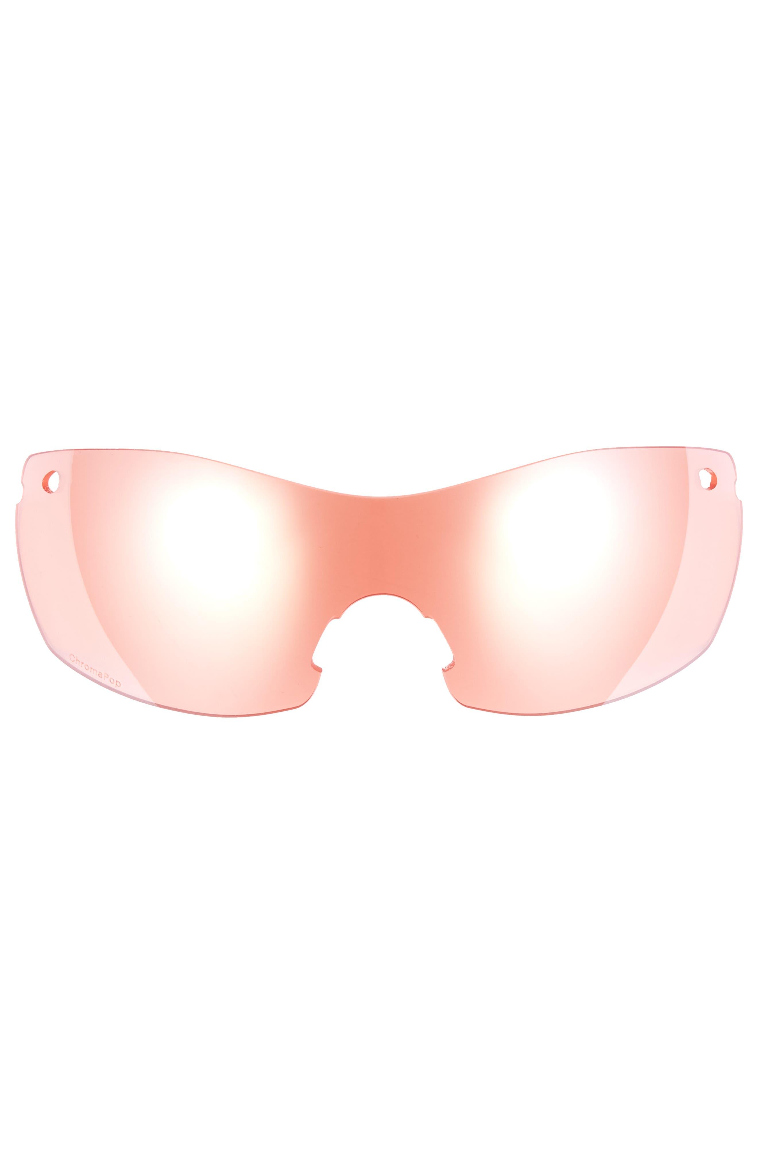 PivLock<sup>™</sup> Asana 150mm ChromaPop Polarized Sunglasses,                             Alternate thumbnail 4, color,                             Violet