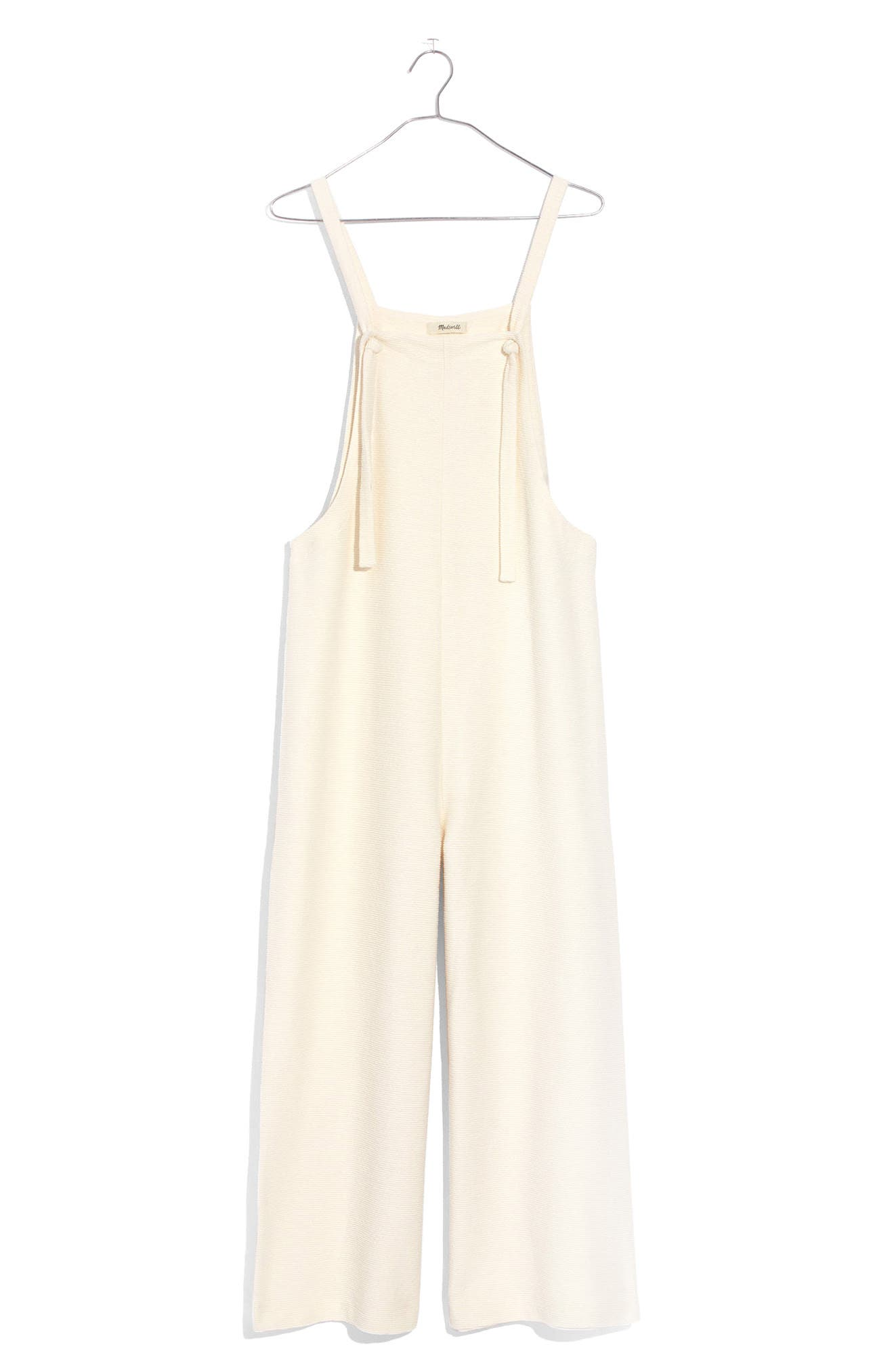 Madewell Tie Strap Knit Overalls