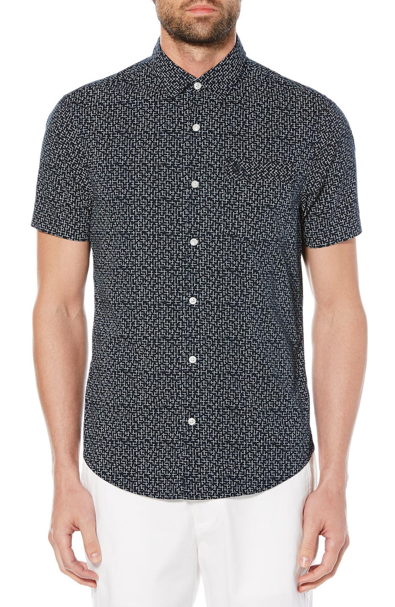 Original Penguin Slim Fit Poplin Shirt