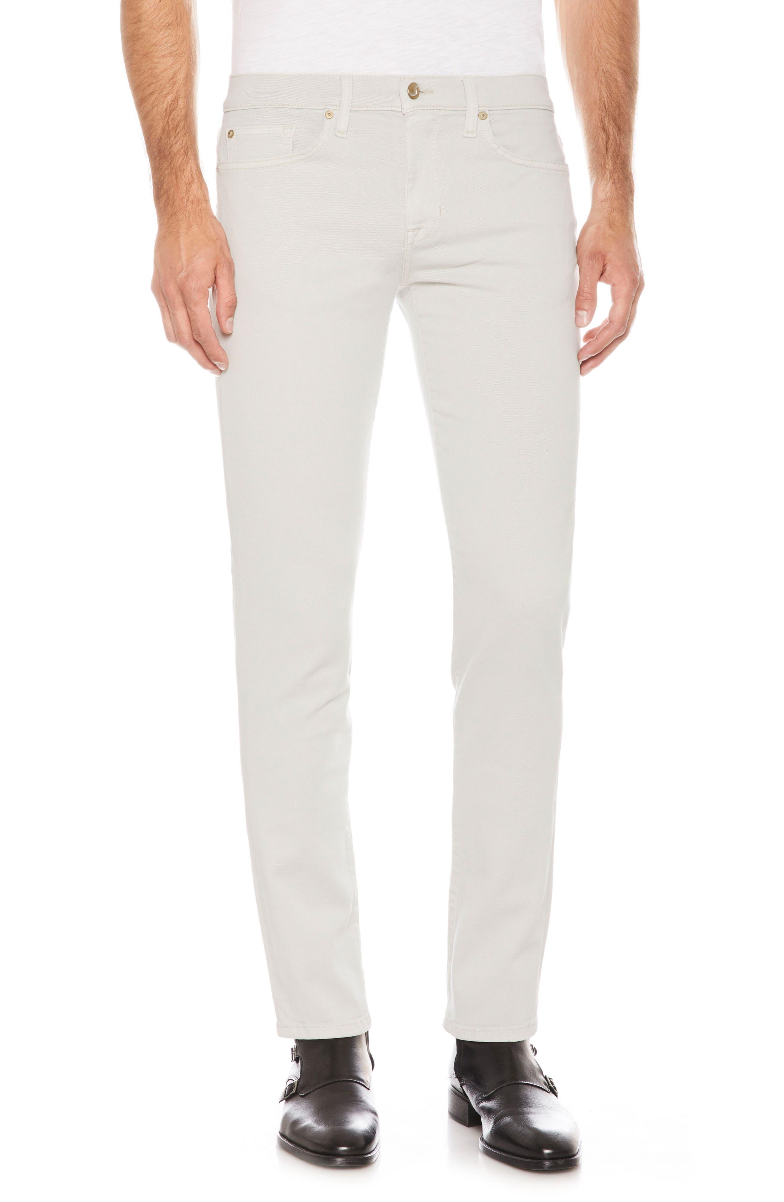 Brixton Slim Straight Leg Jeans,                         Main,                         color, Mancini