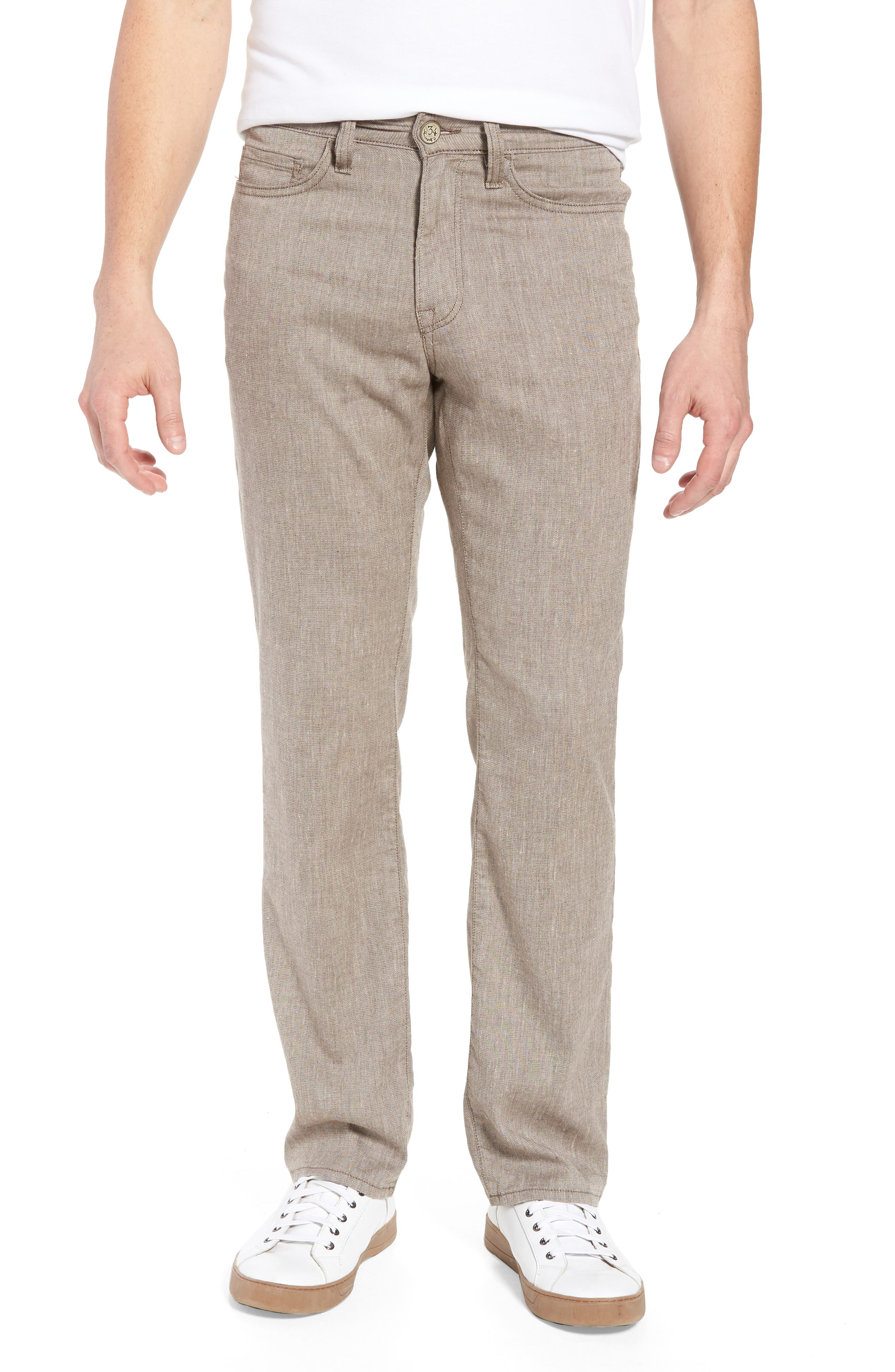 Charisma Relaxed Fit Pants,                             Main thumbnail 1, color,                             Latte Textured