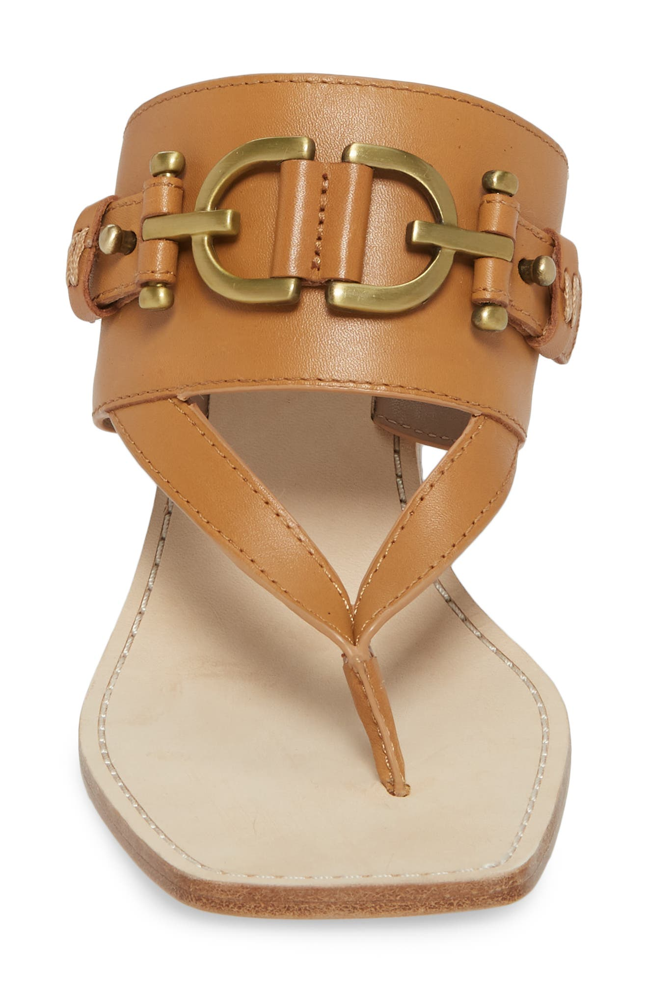 Mimi Mule,                             Alternate thumbnail 4, color,                             Fawn Leather
