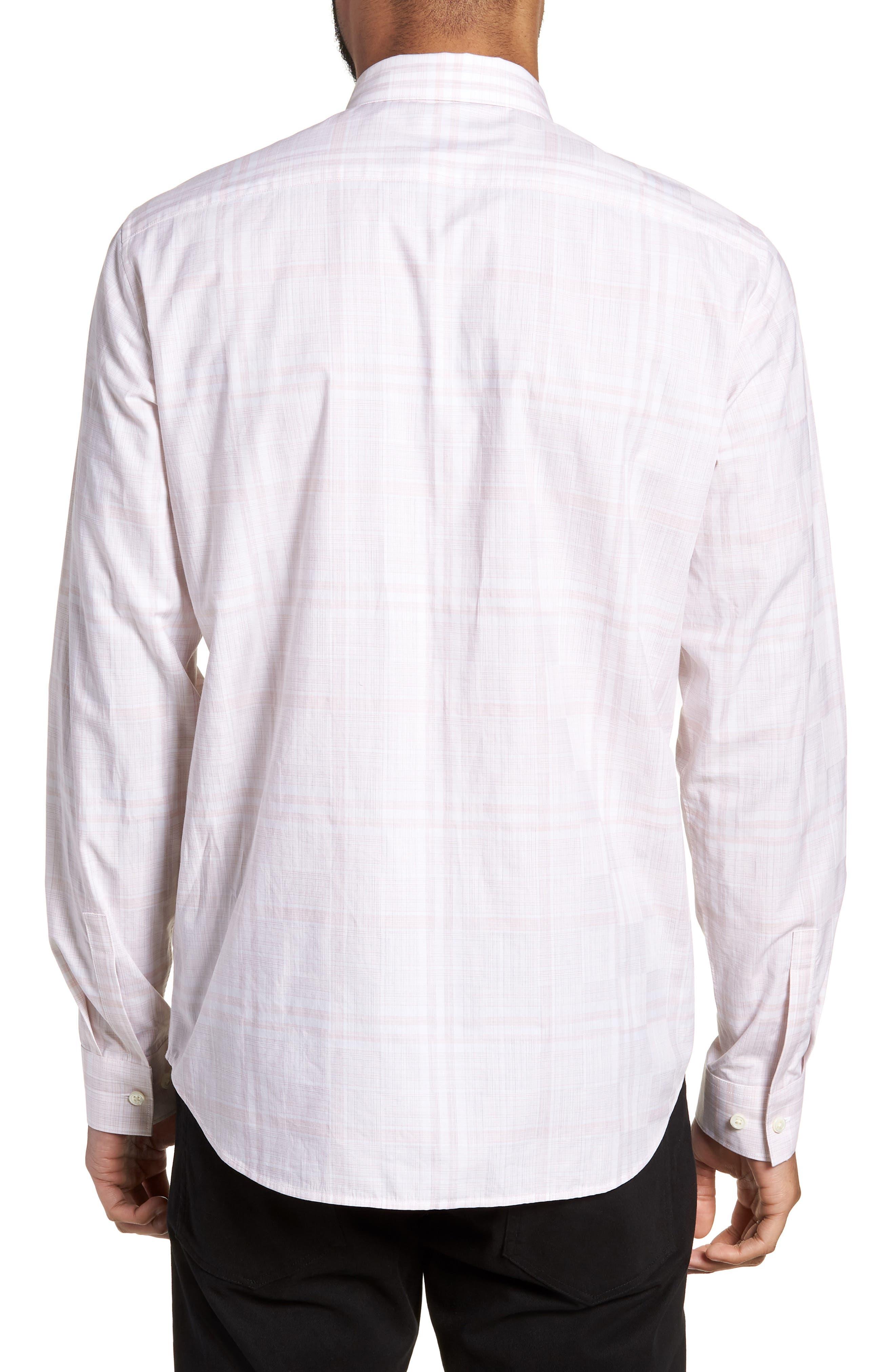 Murrary Dada Slim Fit Plaid Sport Shirt,                             Alternate thumbnail 2, color,                             Lotus Multi