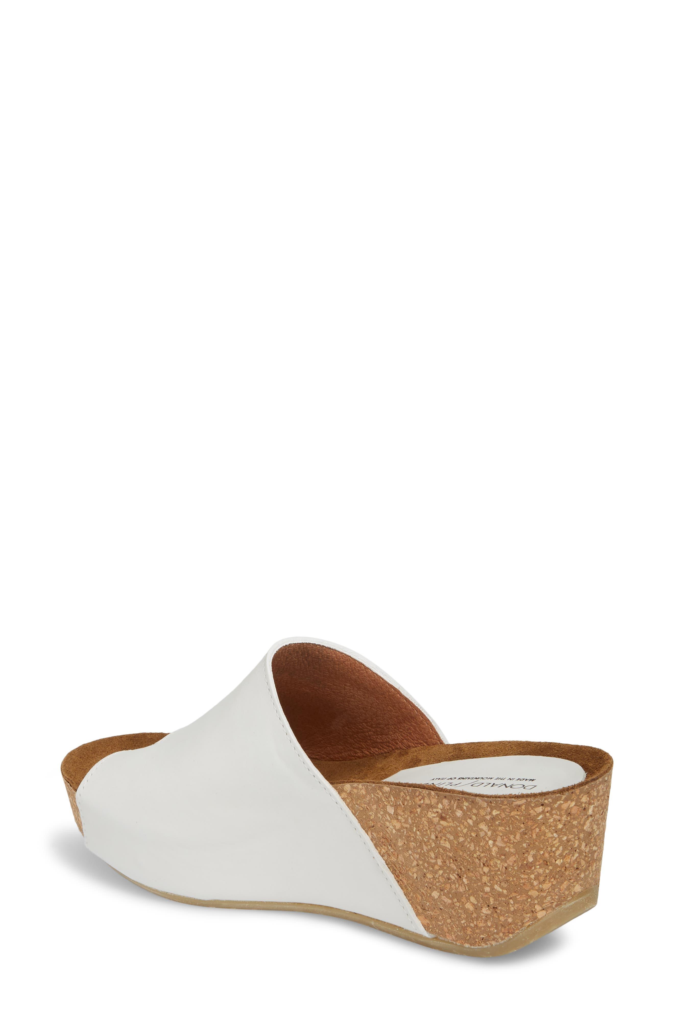 Donald J Pliner Ginie Platform Wedge Sandal,                             Alternate thumbnail 2, color,                             Bone Leather
