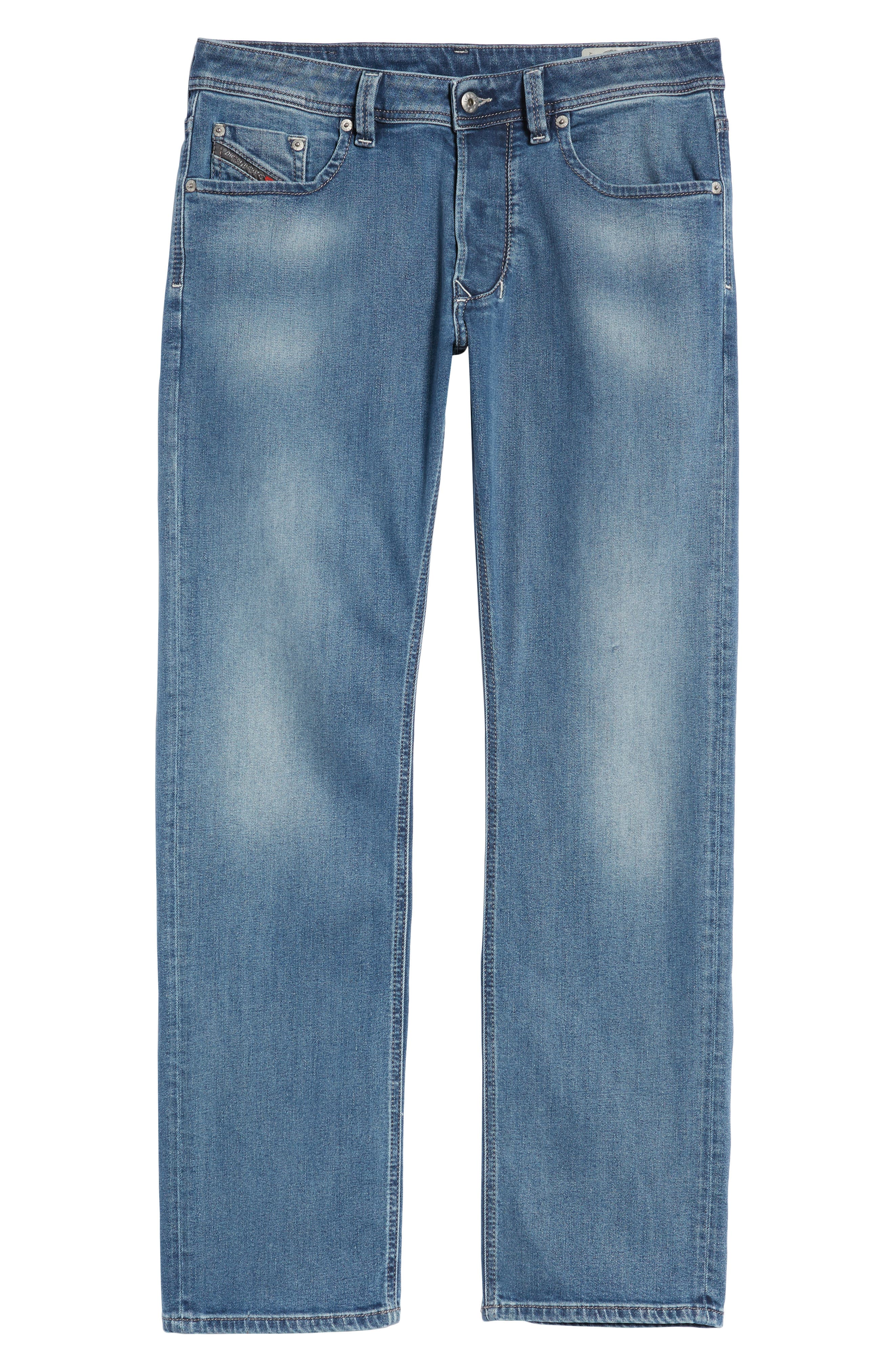 Larkee Relaxed Fit Jeans,                             Alternate thumbnail 6, color,                             084Rb