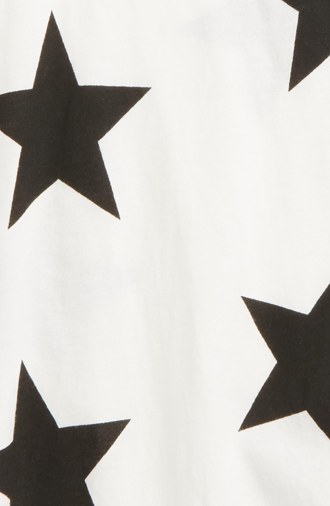 Star Romper,                             Alternate thumbnail 2, color,                             White