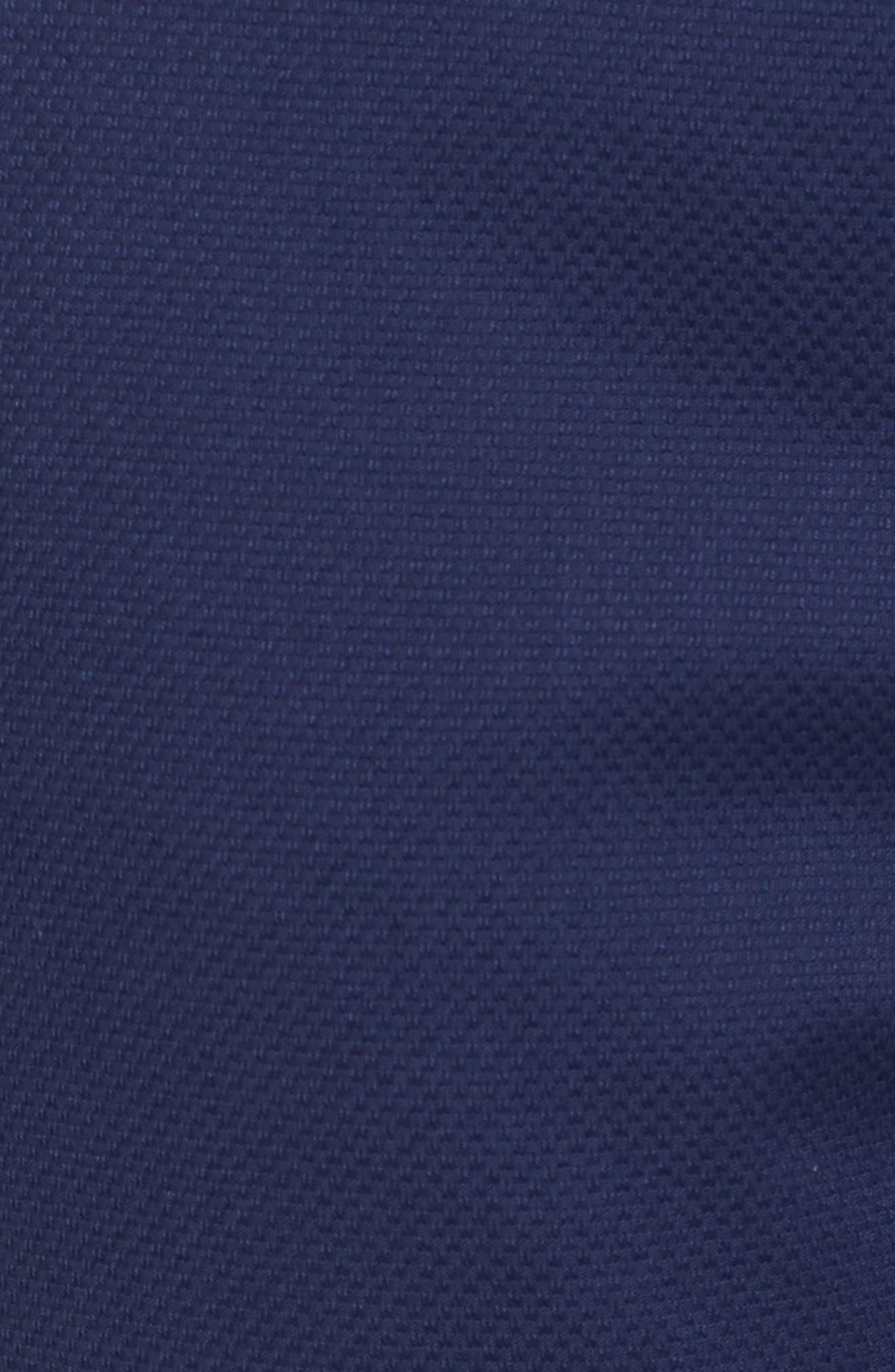 Maron Cuffed Straight Leg Pants,                             Alternate thumbnail 6, color,                             Navy