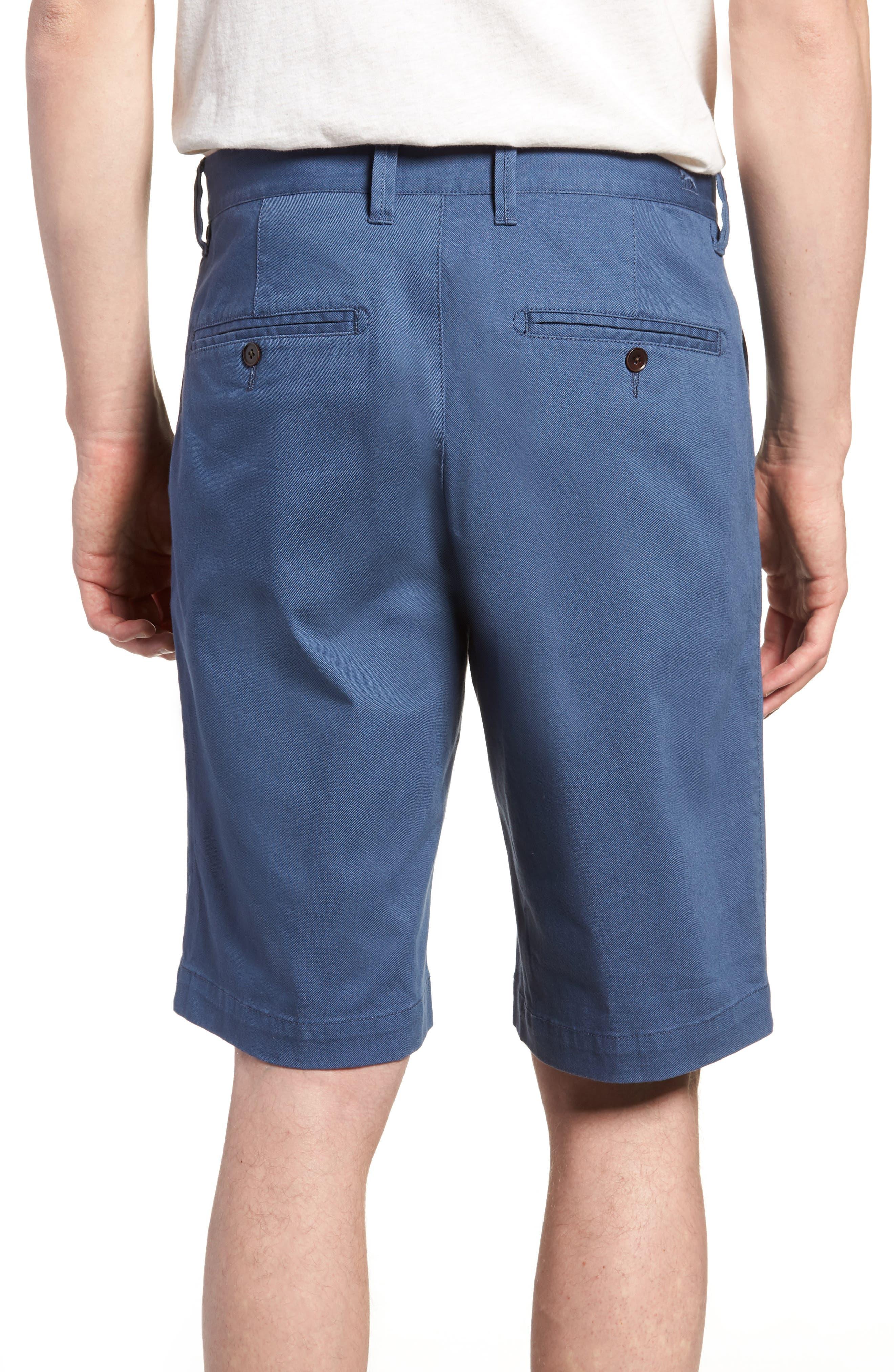 Driving Creek Regular Fit Flat Front Shorts,                             Alternate thumbnail 2, color,                             Dusk