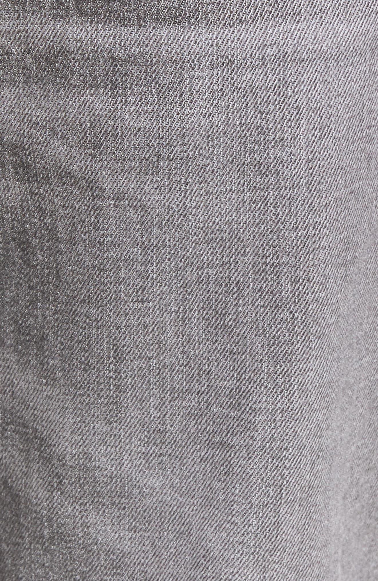 Blake Slim Fit Jeans,                             Alternate thumbnail 5, color,                             Chrome