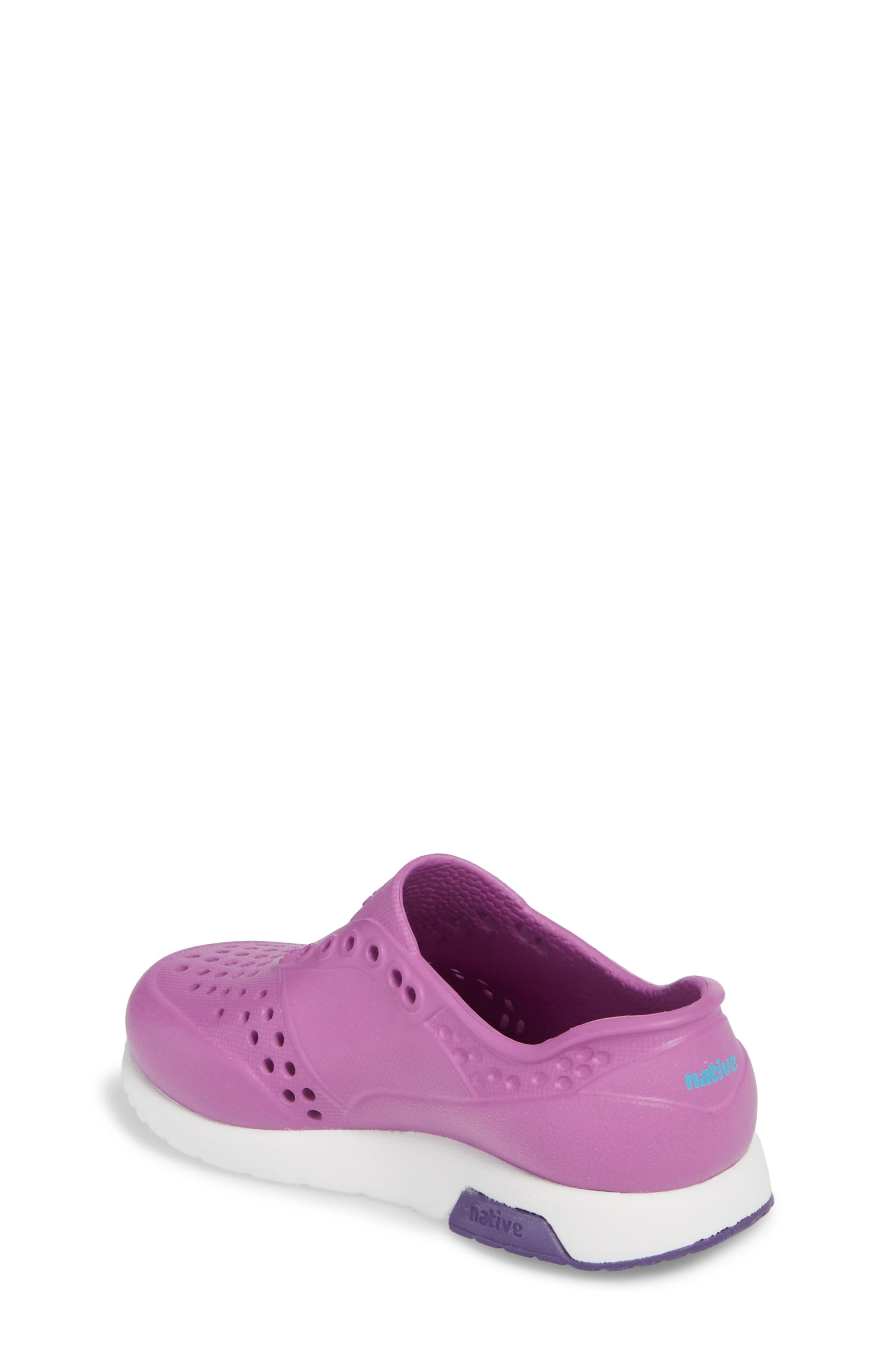 Lennox Slip-On Sneaker,                             Alternate thumbnail 2, color,                             Peace Purple/ Shell White