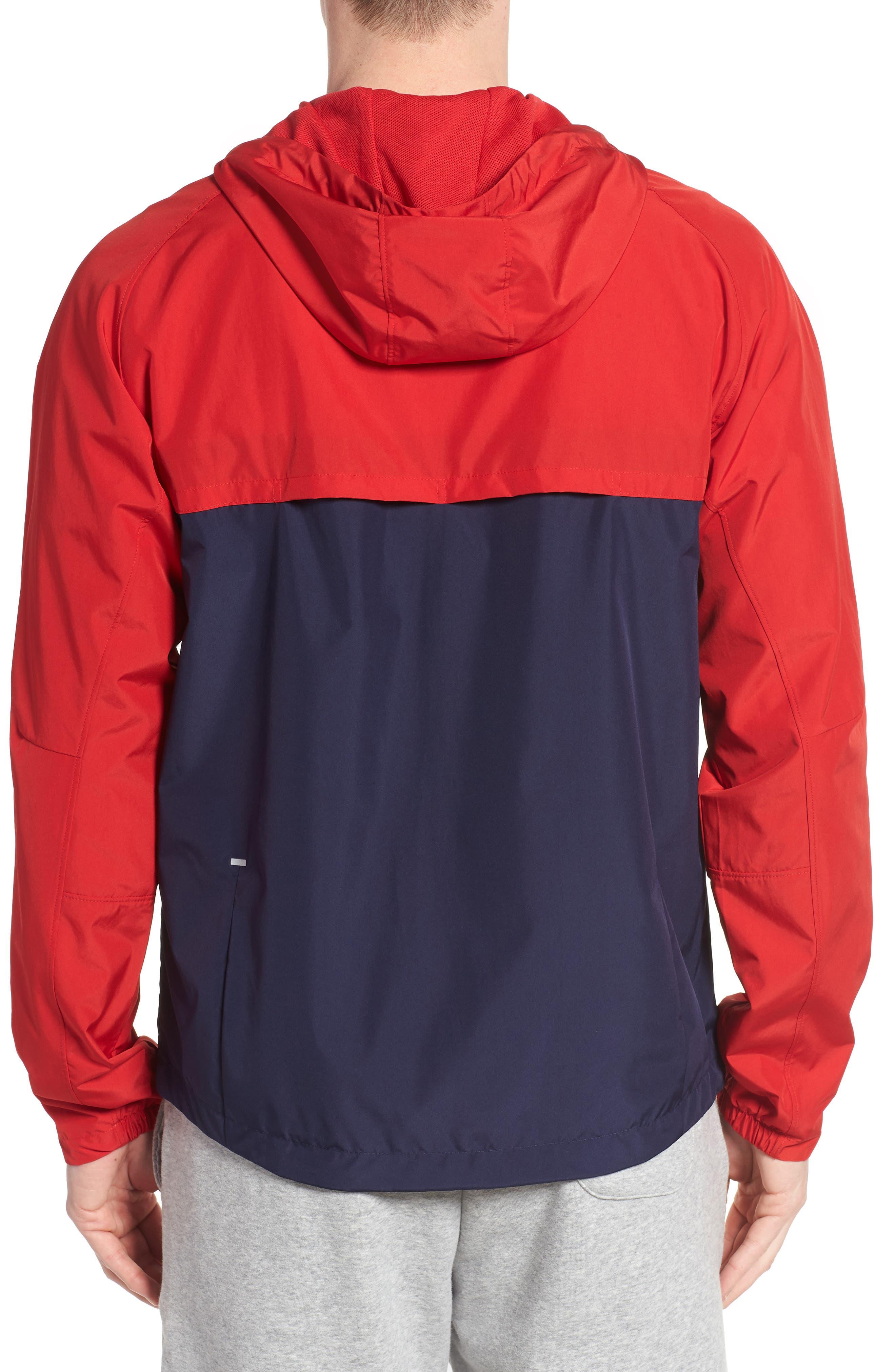 Athletics 78 Jacket,                             Alternate thumbnail 2, color,                             Team Red