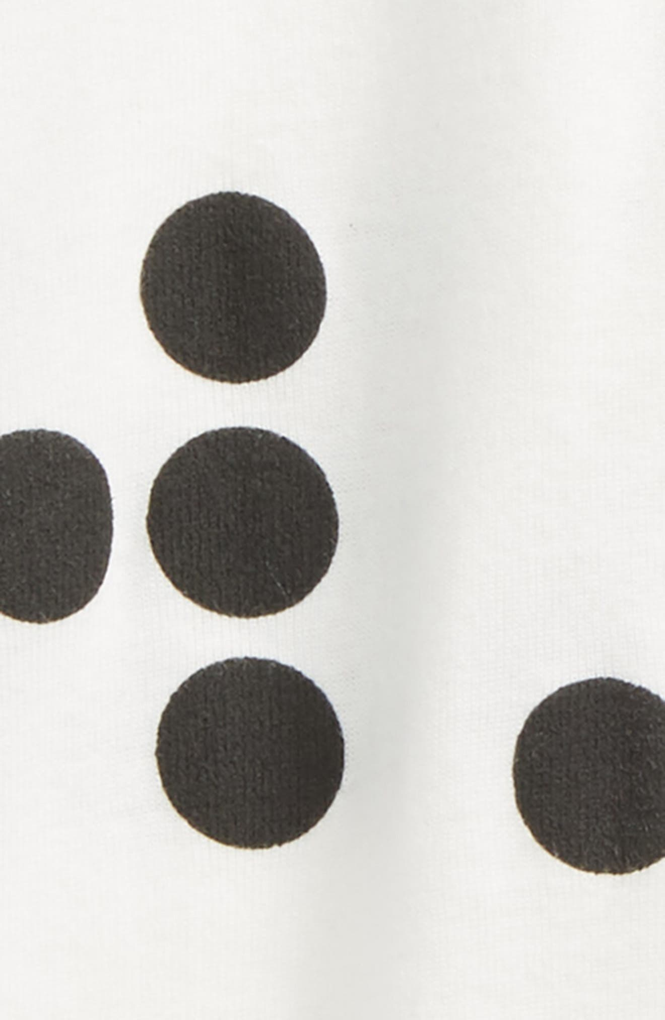 Braille Dot Leggings,                             Alternate thumbnail 2, color,                             White