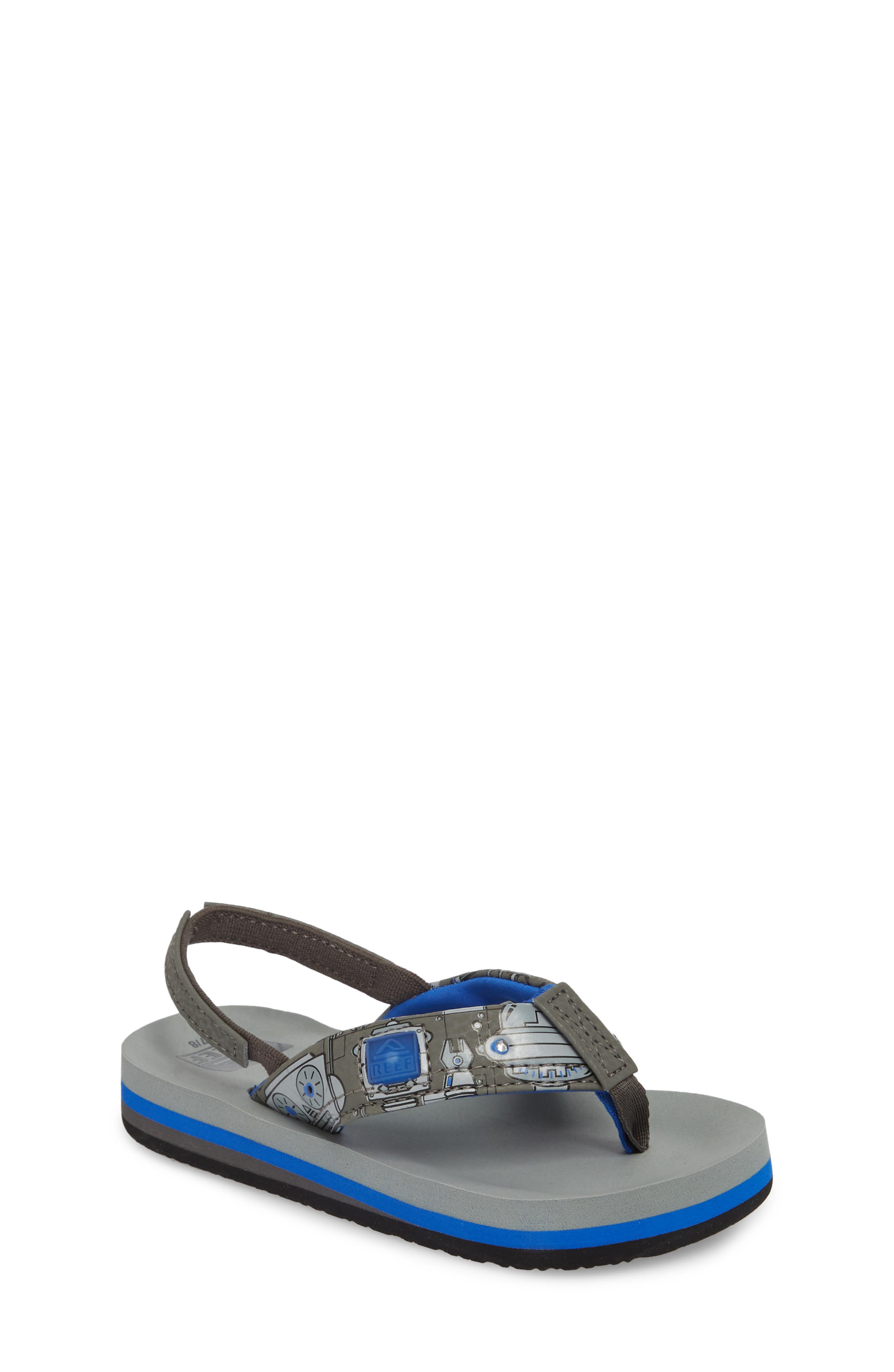 Ahi Light-Up Flip Flop,                             Main thumbnail 1, color,                             Grey
