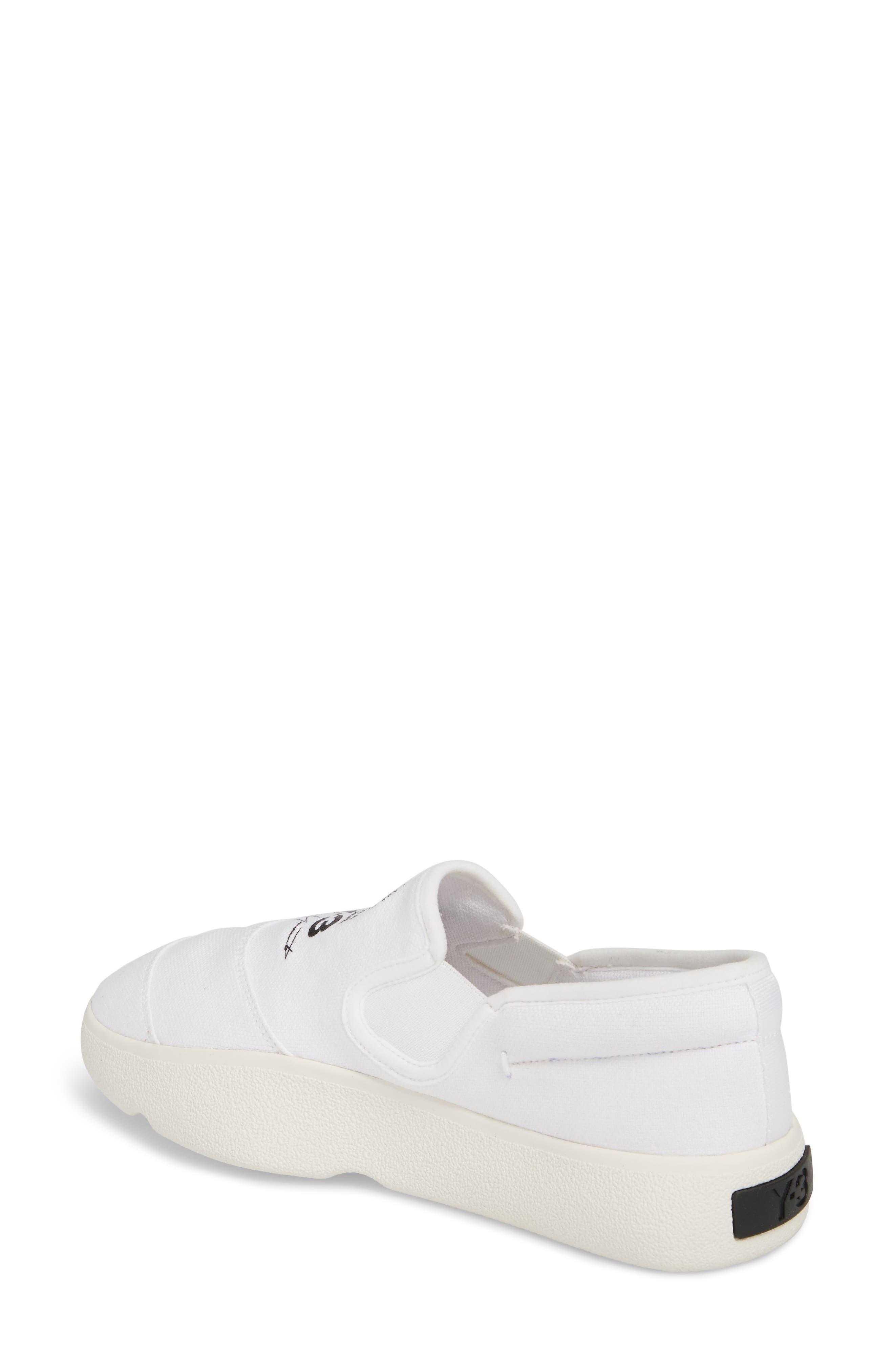 Tangutsu Slip-On Sneaker,                             Alternate thumbnail 2, color,                             White / Black / Core White
