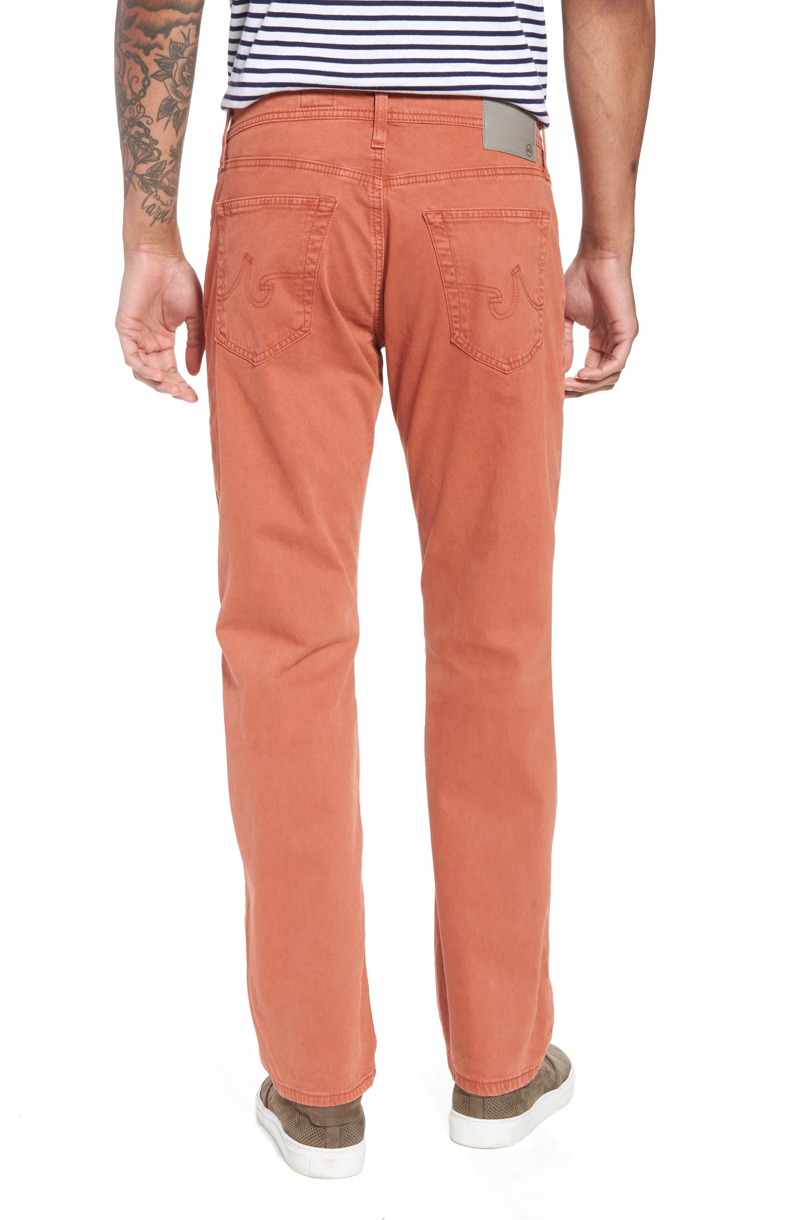 Graduate SUD Slim Straight Leg Pants,                             Alternate thumbnail 2, color,                             Sulfur Rosso Red