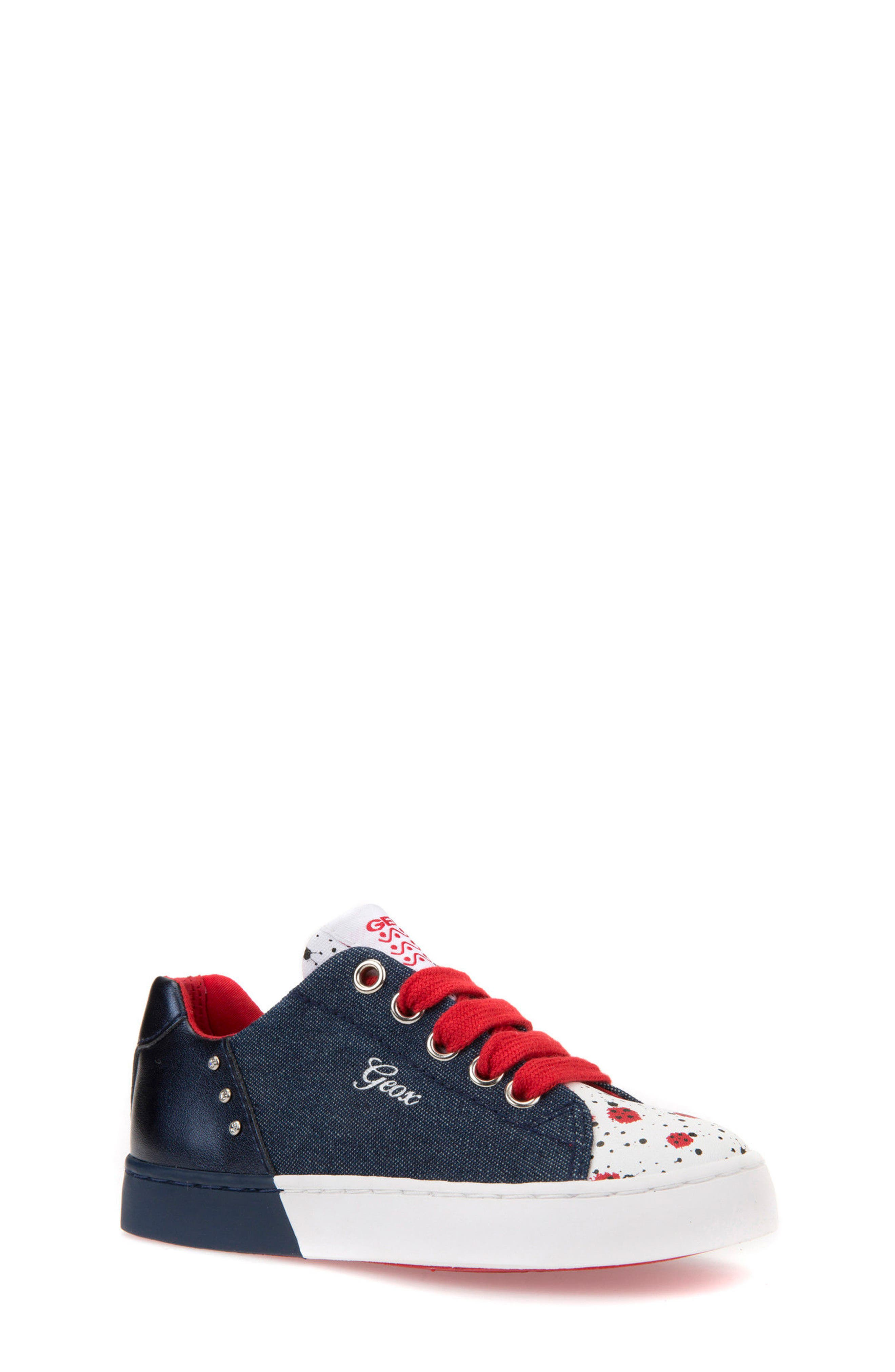 Geox Ciak Low Top Sneaker (Toddler, Little Kid & Big Kid)
