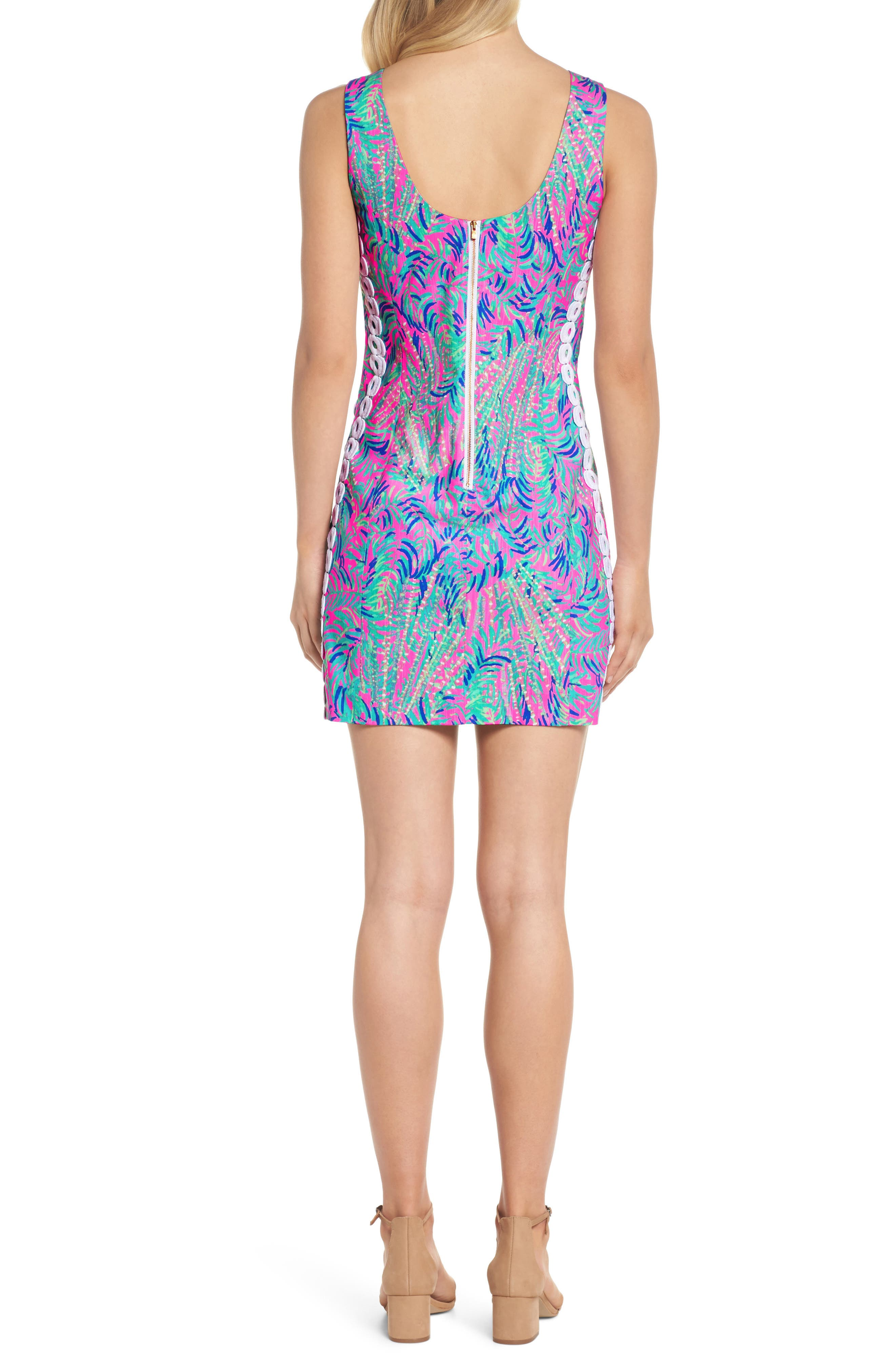 Mila Sheath Dress,                             Alternate thumbnail 2, color,                             Pink Sunset Coco Breeze