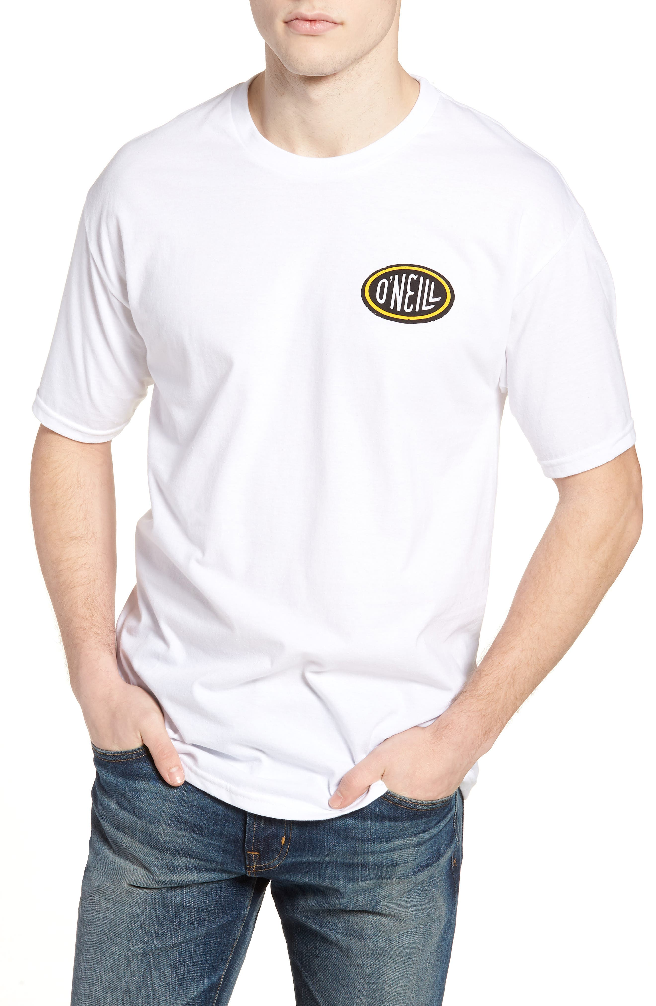 Gasser Graphic T-Shirt,                         Main,                         color, White