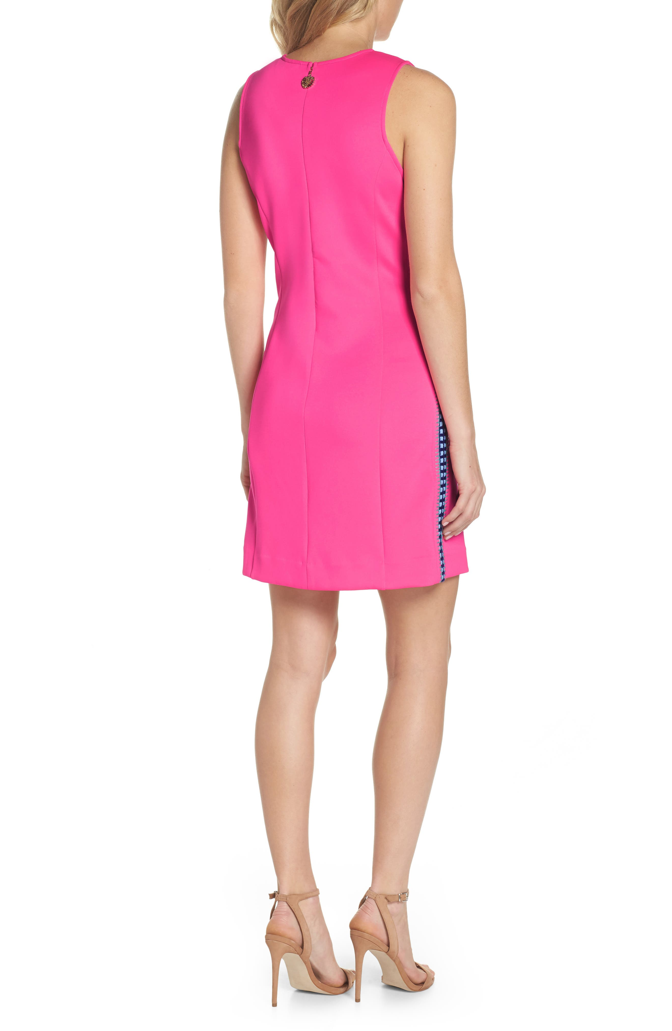 Mila Sheath Dress,                             Alternate thumbnail 2, color,                             Raz Berry