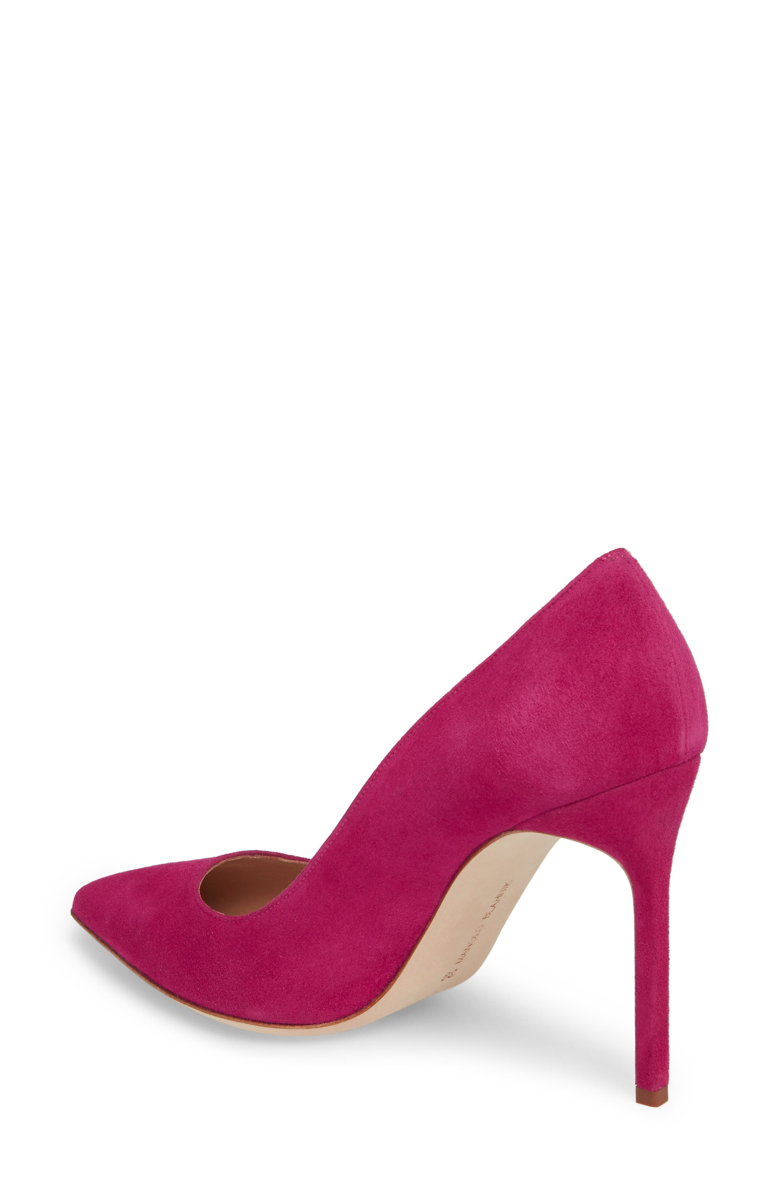 'BB' Pointy Toe Pump,                             Alternate thumbnail 2, color,                             Magenta