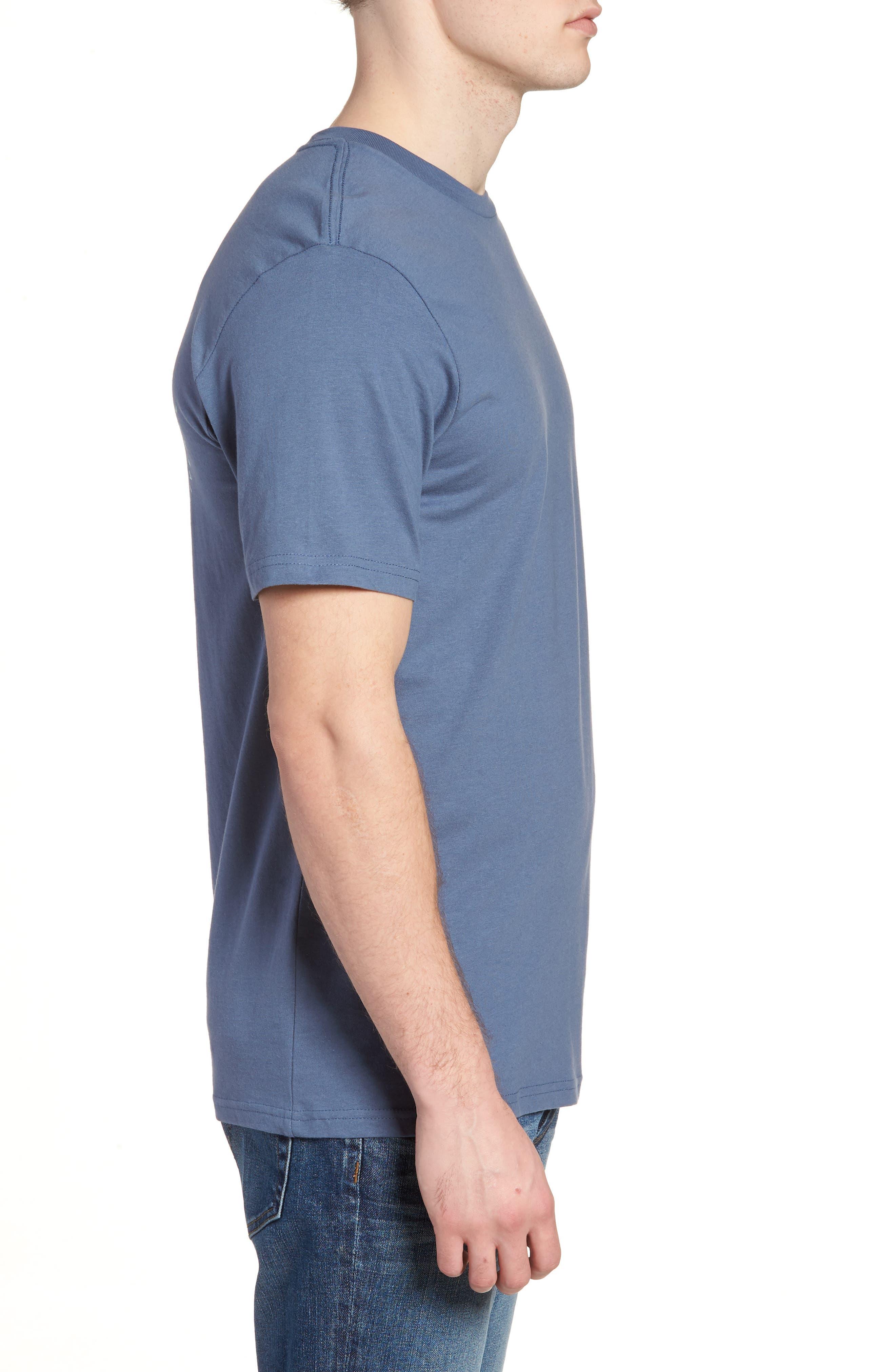 Burch Eye Graphic T-Shirt,                             Alternate thumbnail 3, color,                             Deep Blue