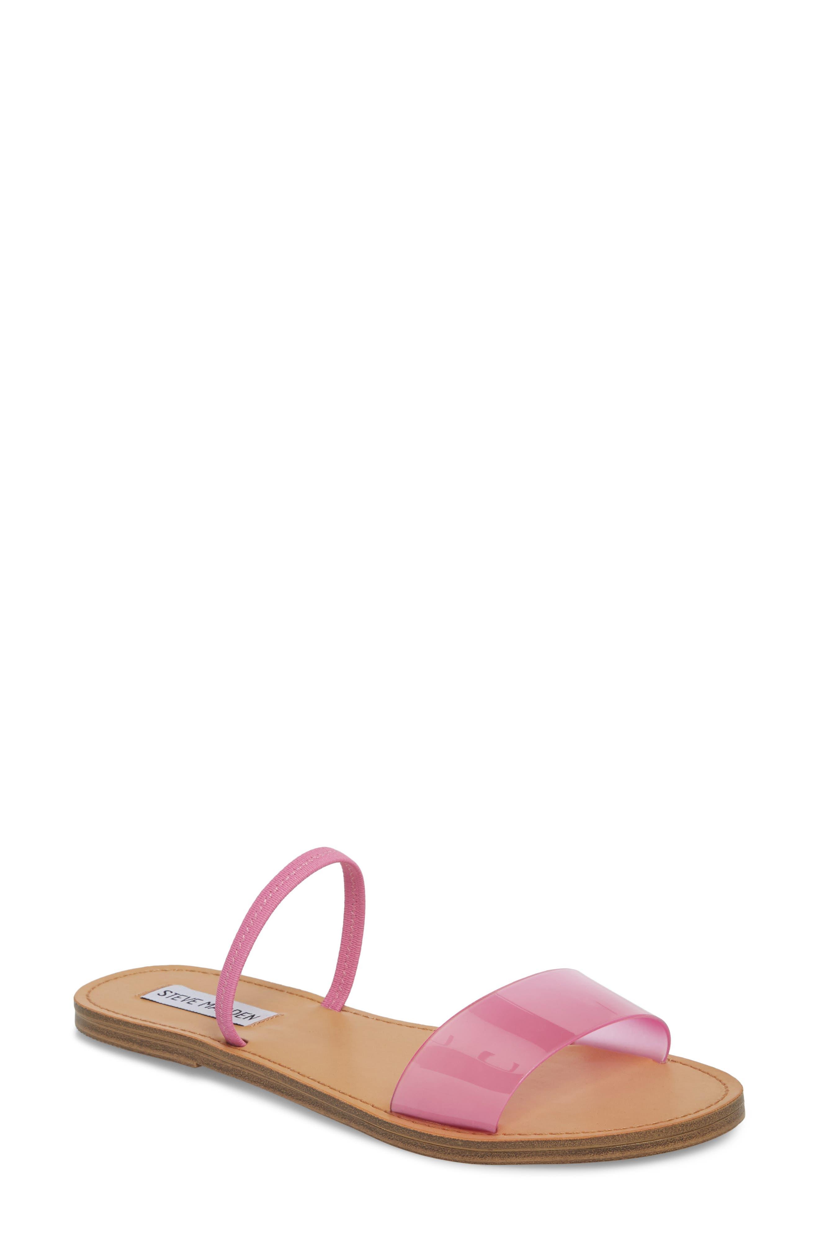 Alternate Image 1 Selected - Steve Madden Dasha Strappy Slide Sandal (Women)