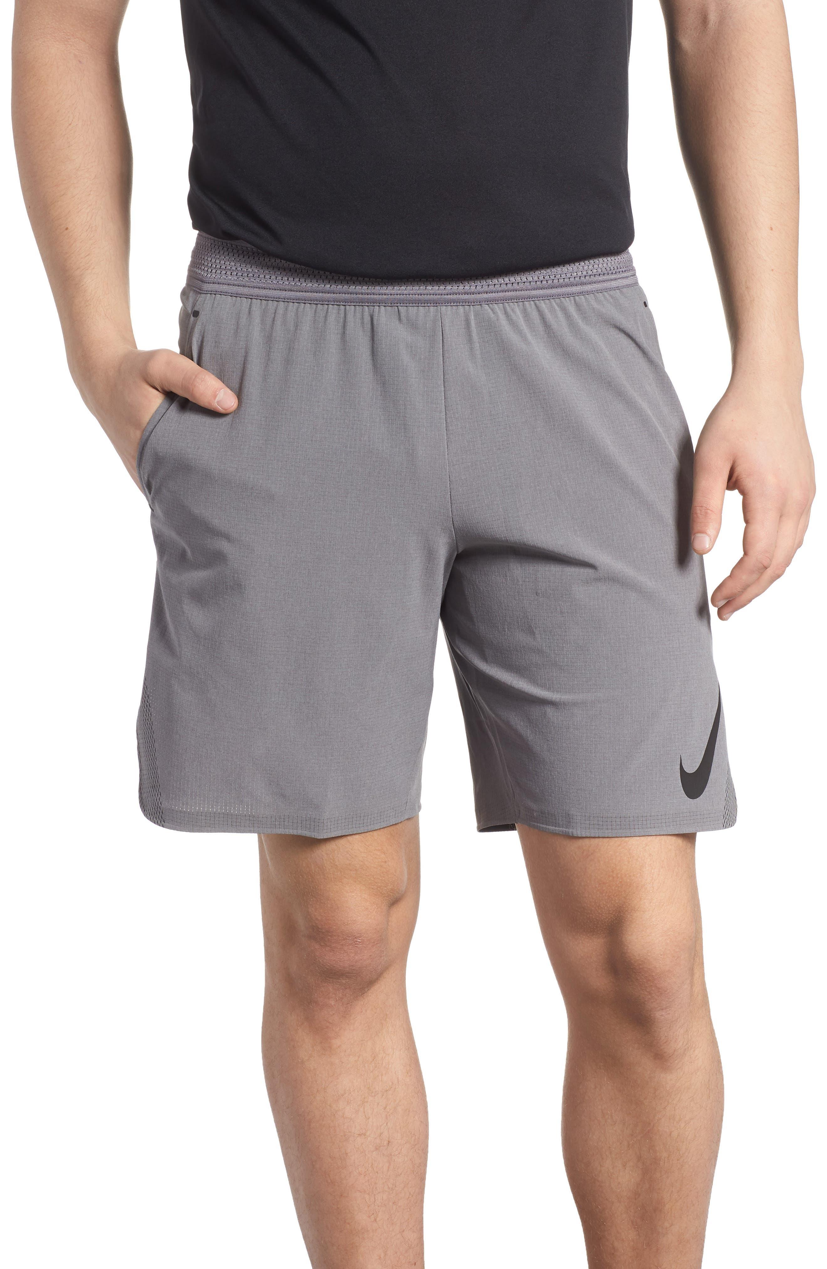 Repel 3.0 Flex Training Shorts,                             Main thumbnail 1, color,                             Gun Smoke/ Grey/ Black
