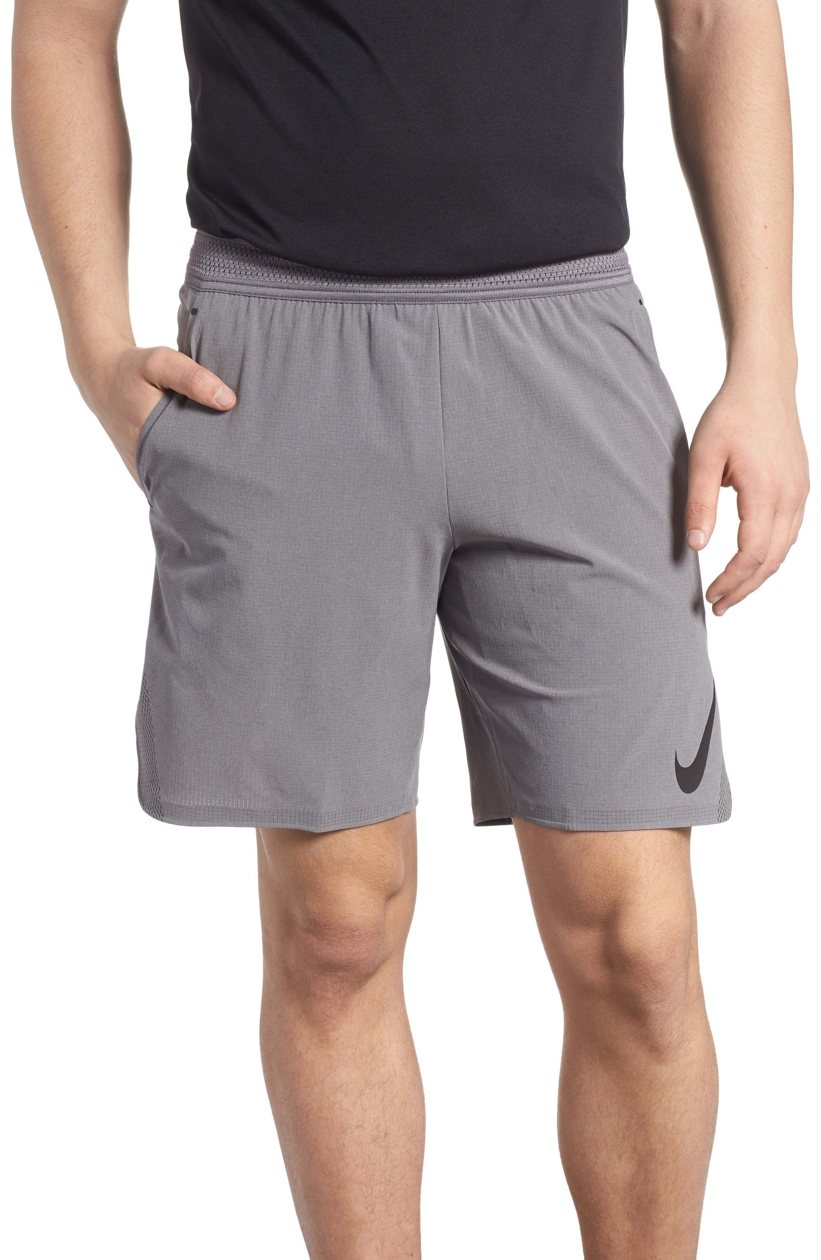 Repel 3.0 Flex Training Shorts,                         Main,                         color, Gun Smoke/ Grey/ Black