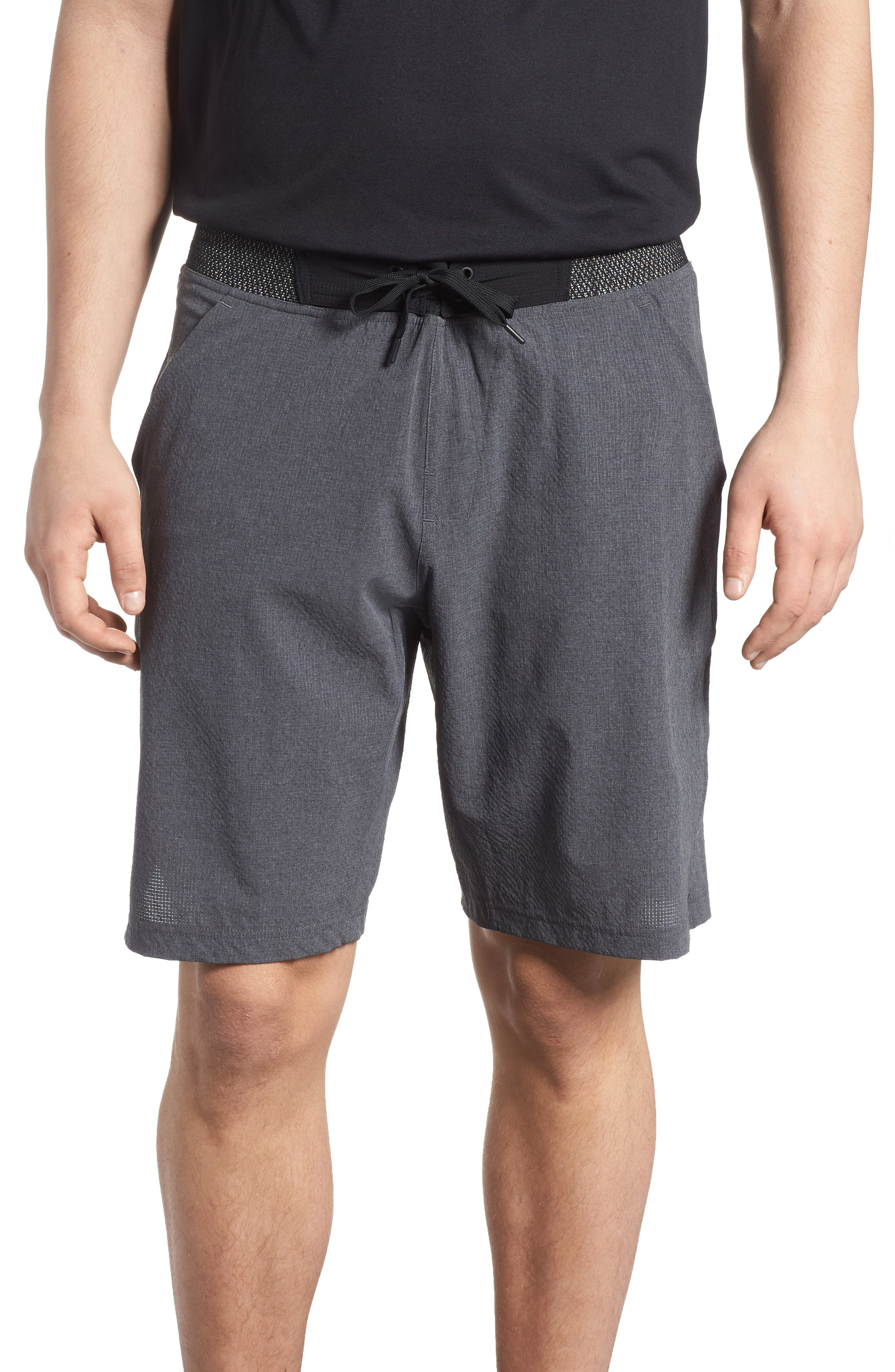 Epic Knit Shorts,                         Main,                         color, Dark Grey Heather