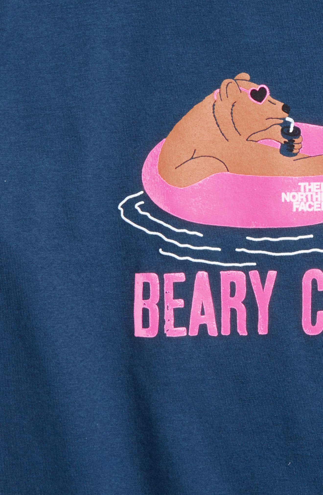 Beary Chill T-Shirt,                             Alternate thumbnail 2, color,                             Blue Wing Teal