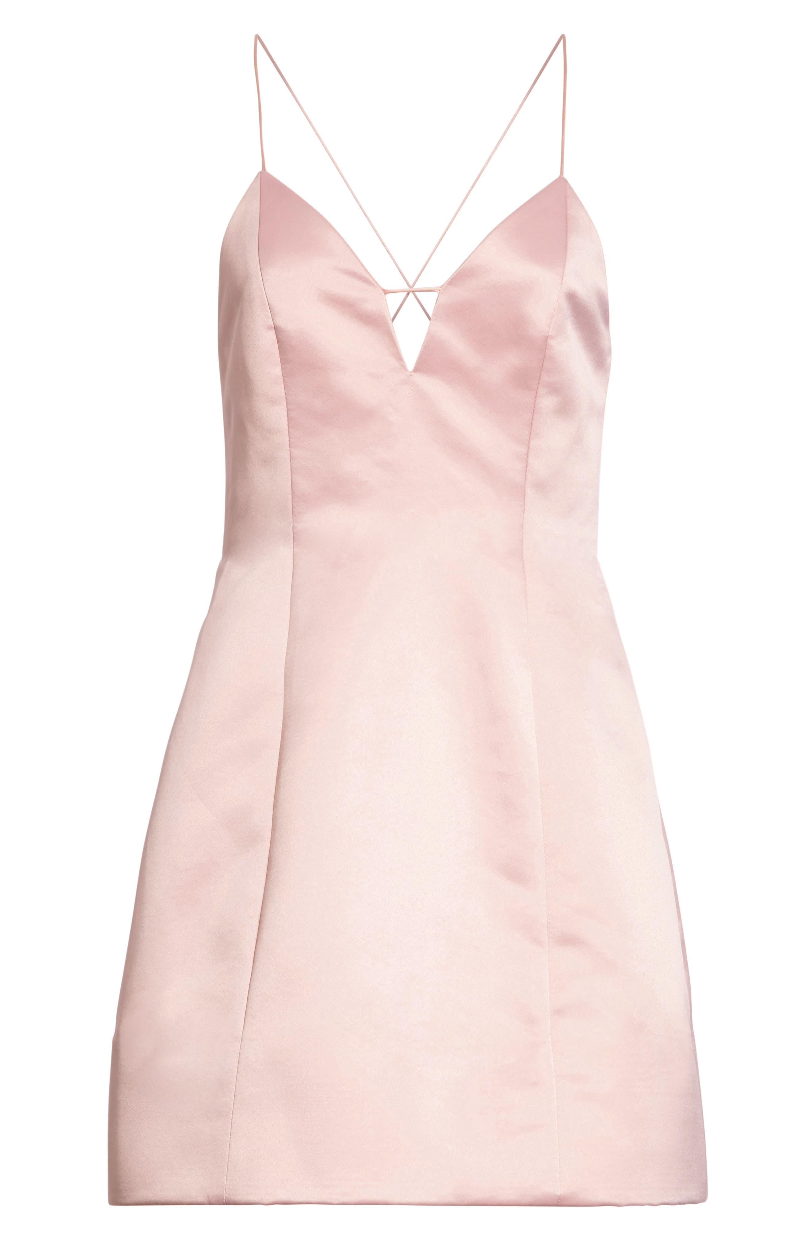 Pearl Minidress,                             Alternate thumbnail 5, color,                             Blush