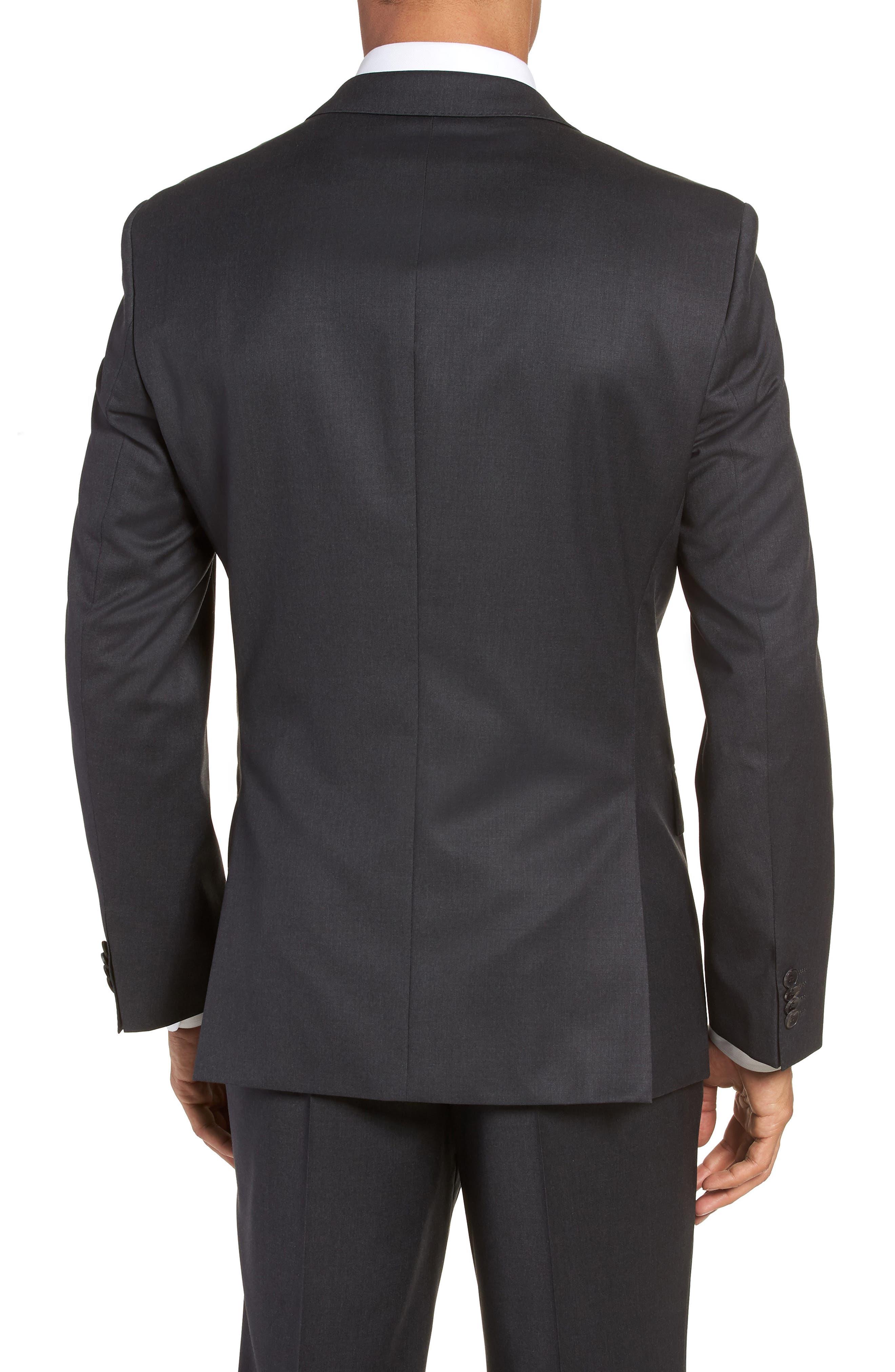 Hayes CYL Trim Fit Solid Wool Sport Coat,                             Alternate thumbnail 2, color,                             Dark Grey
