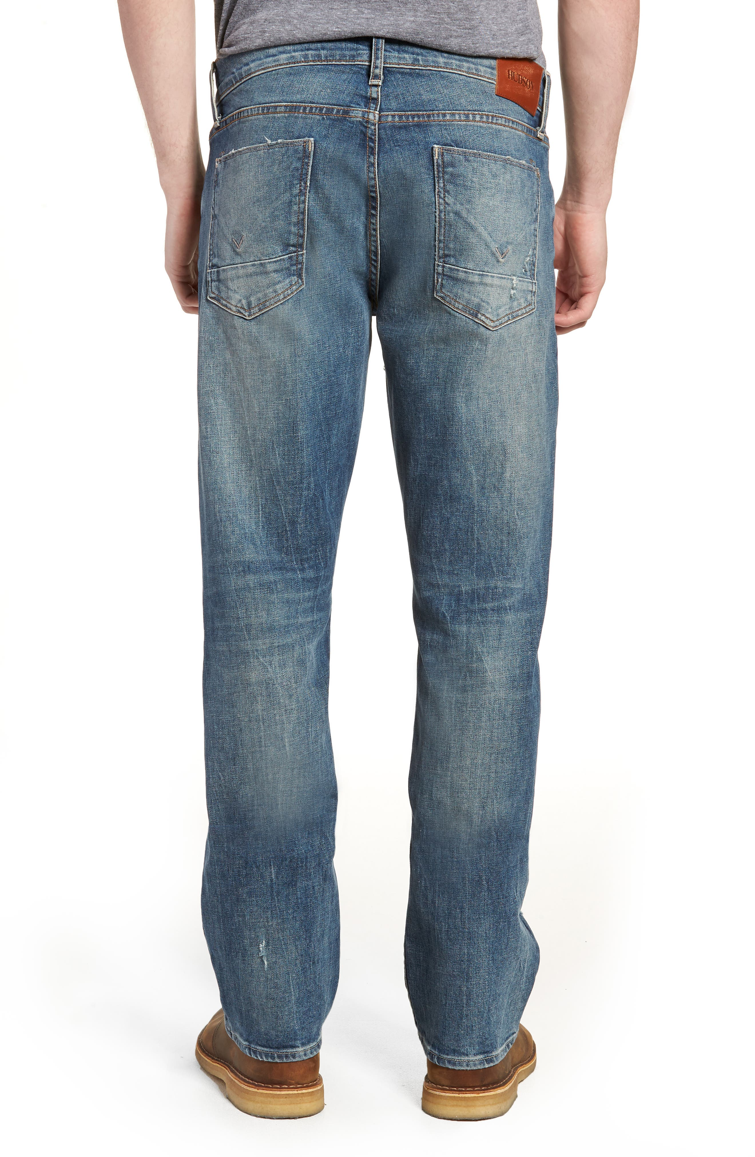 Byron Slim Straight Fit Jeans,                             Alternate thumbnail 2, color,                             Hang Up