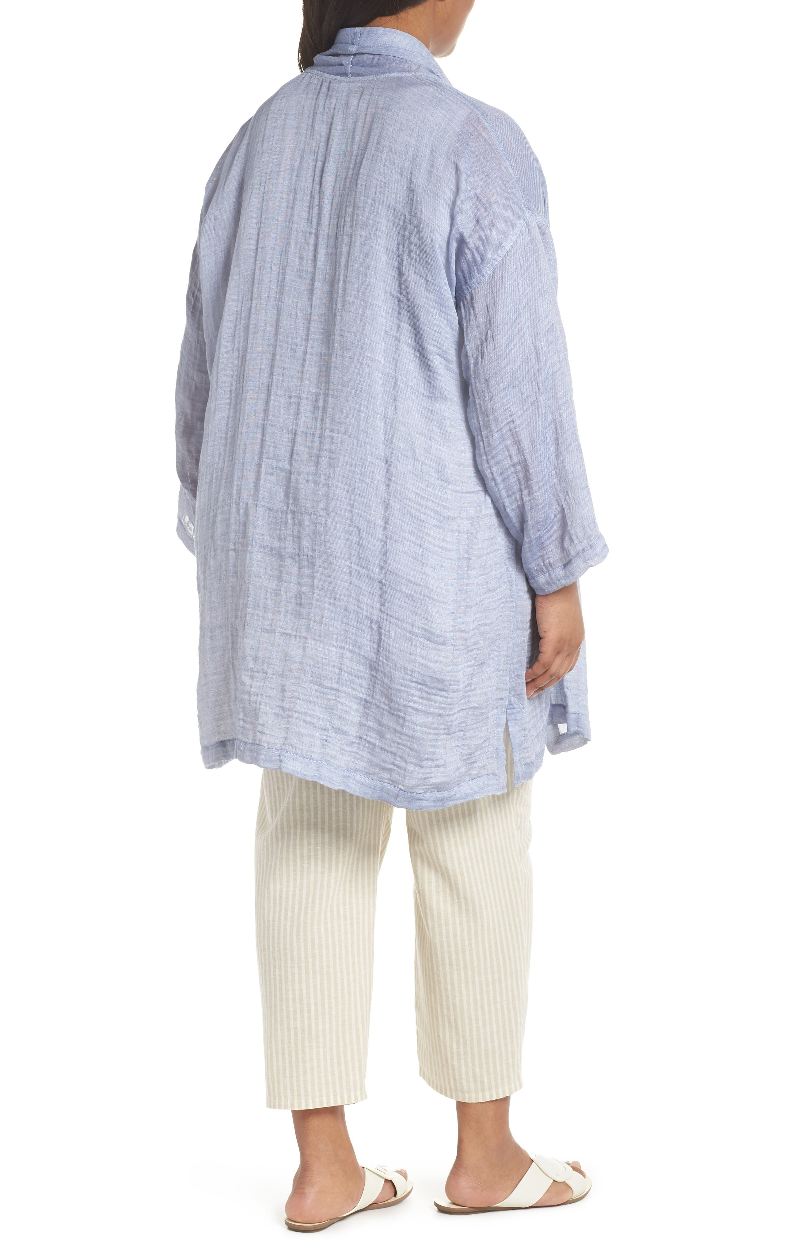 Kimono Jacket,                             Alternate thumbnail 2, color,                             Chambray