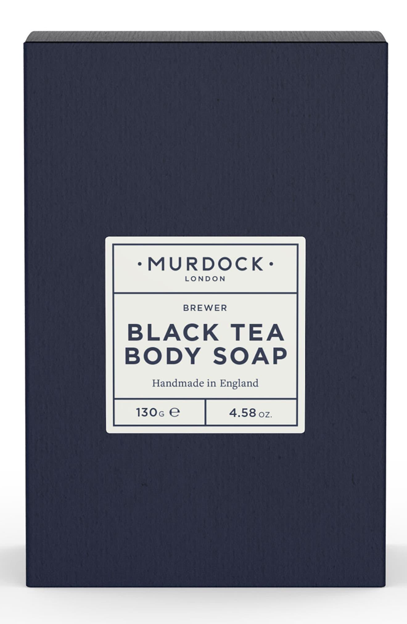 Black Tea Body Bar Soap,                             Main thumbnail 1, color,                             No Color