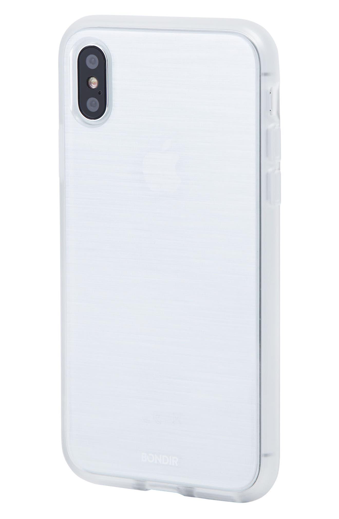 Mist iPhone X Plus Case,                             Alternate thumbnail 2, color,                             Grey