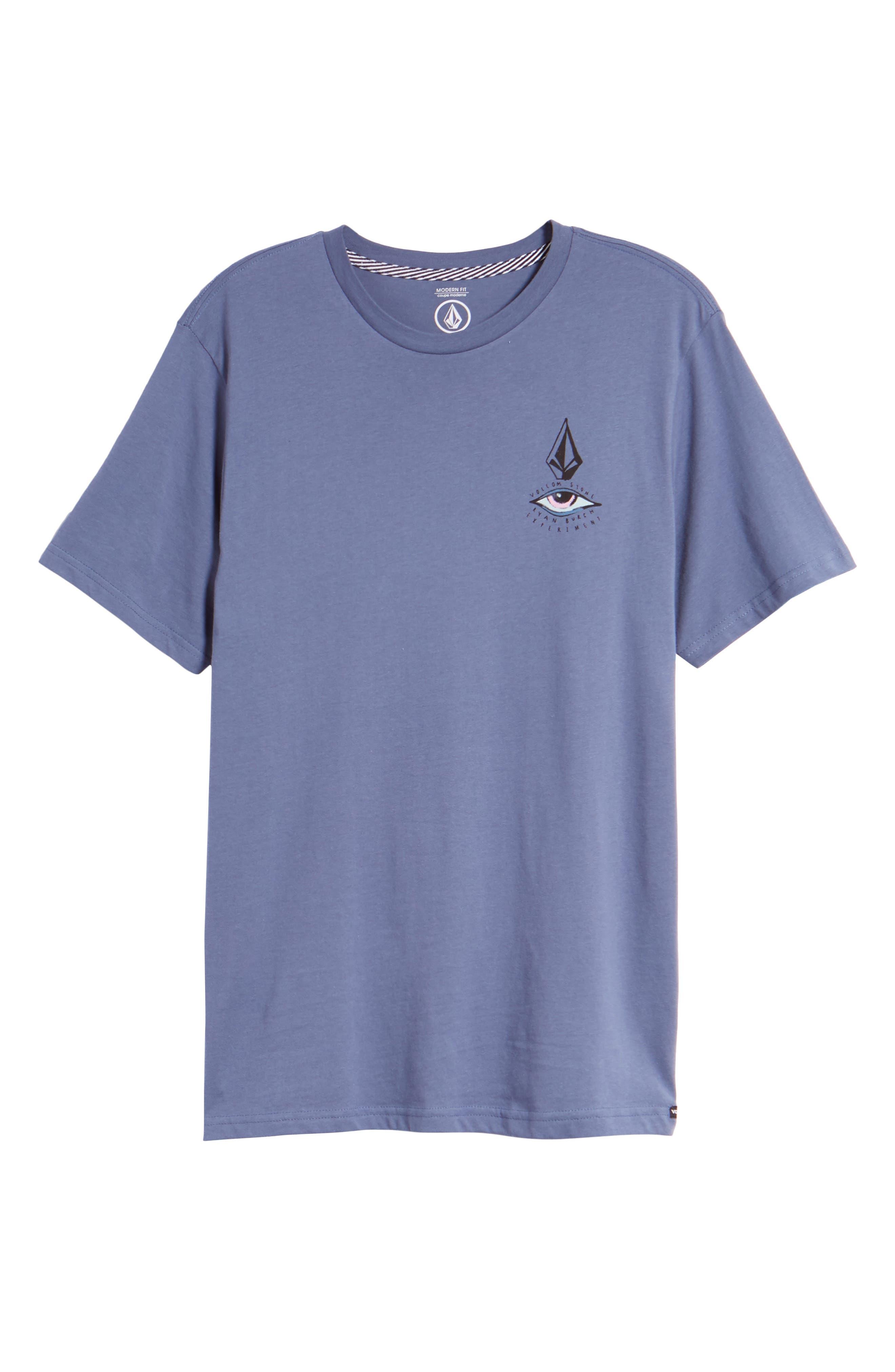 Burch Eye Graphic T-Shirt,                             Alternate thumbnail 6, color,                             Deep Blue