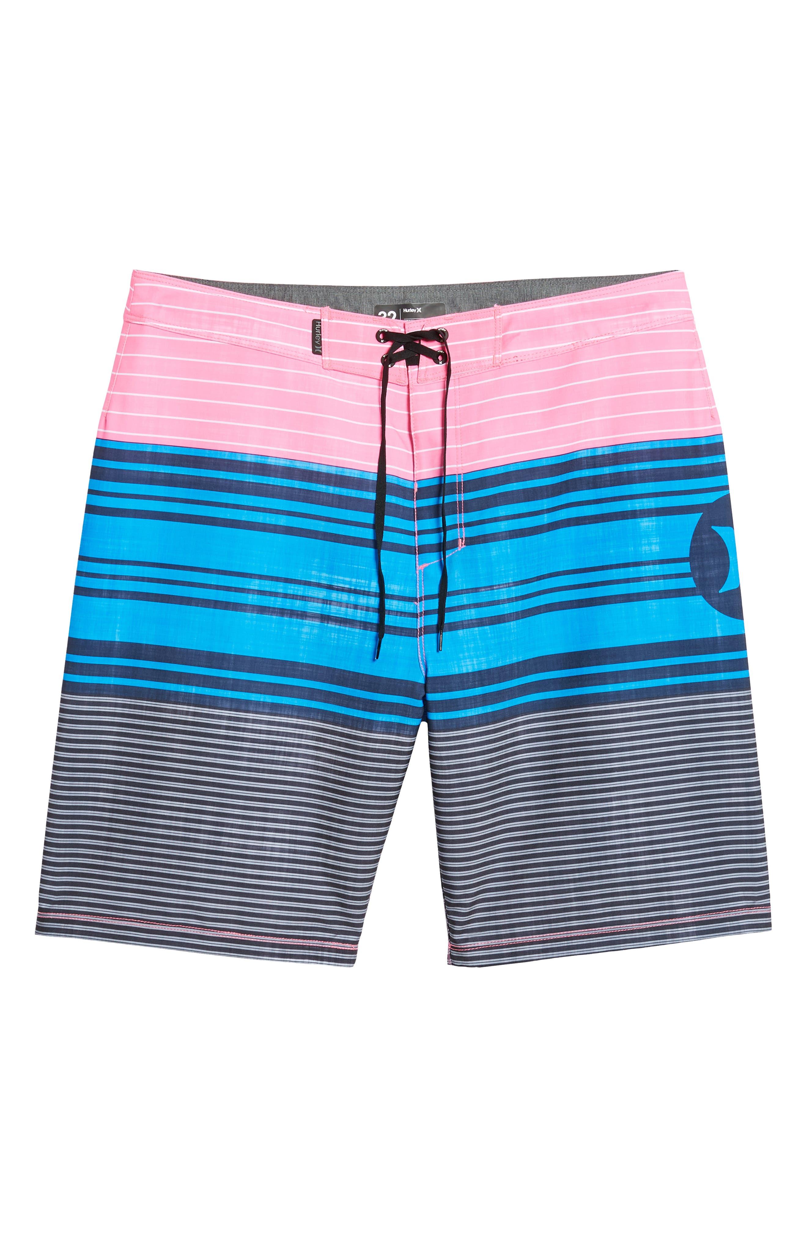Strands Board Shorts,                             Alternate thumbnail 6, color,                             Photo Blue