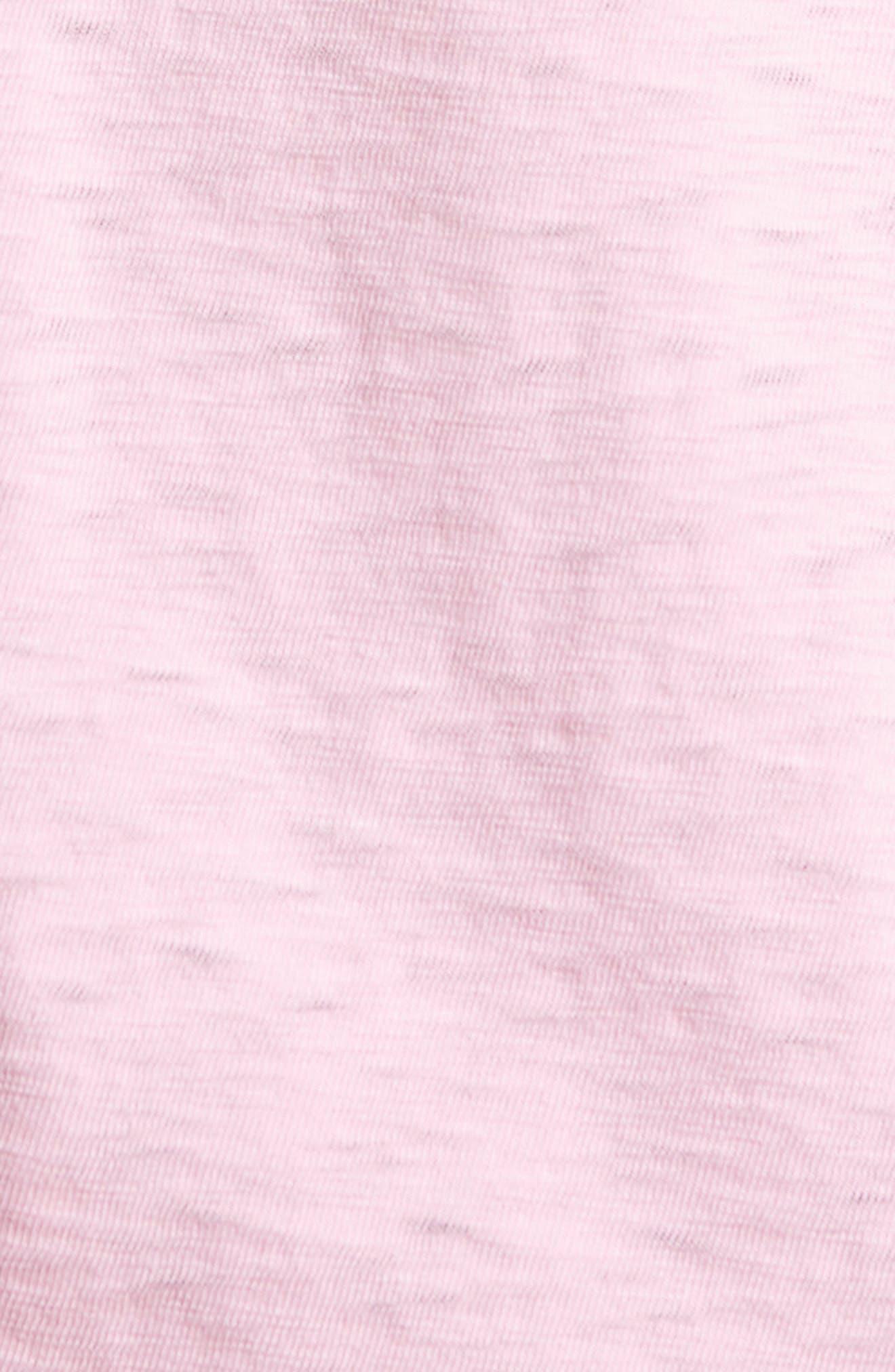 Slub Polo,                             Alternate thumbnail 5, color,                             Pink