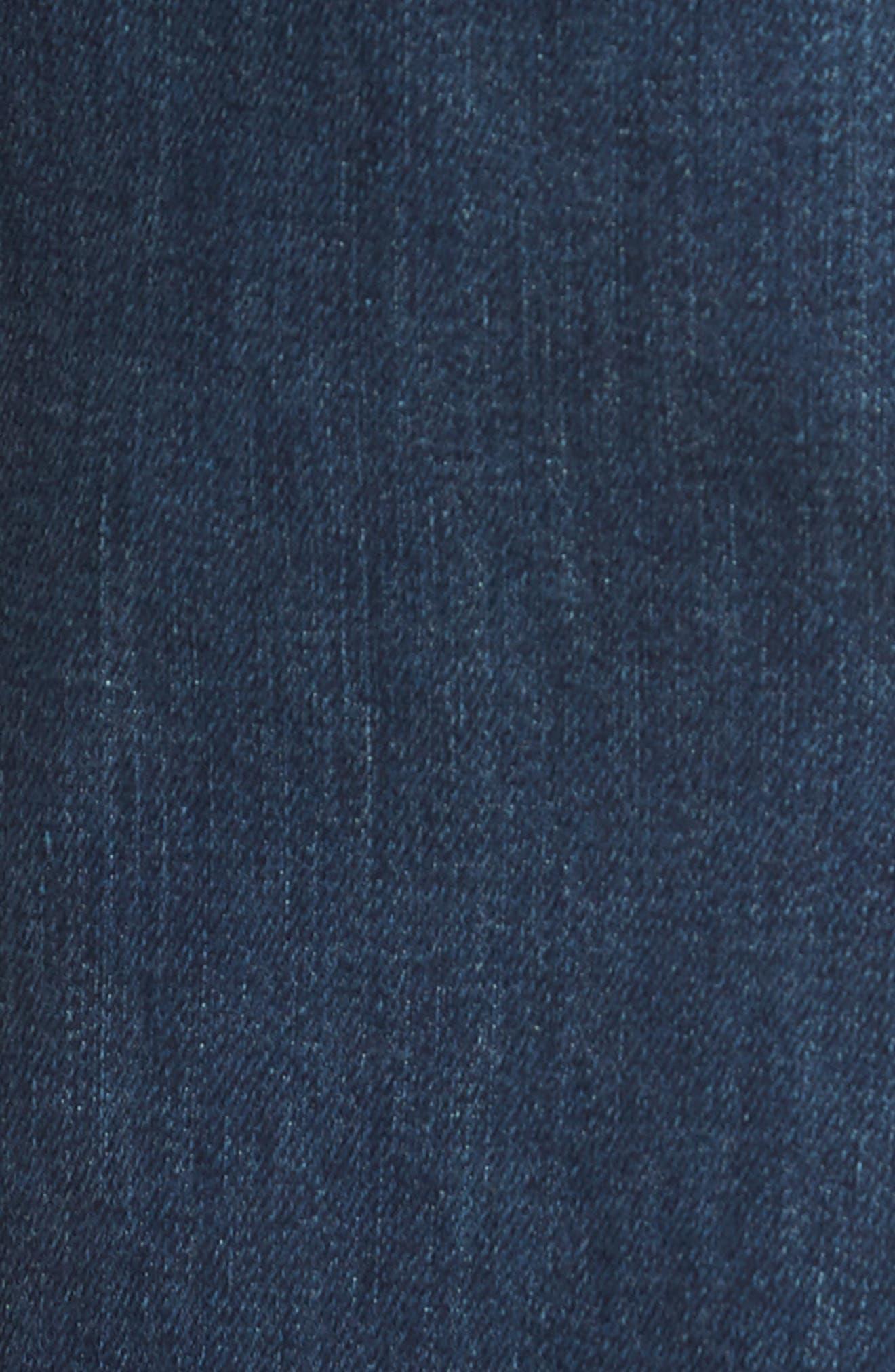 Brixton Slim Straight Fit Jeans,                             Alternate thumbnail 5, color,                             Brady