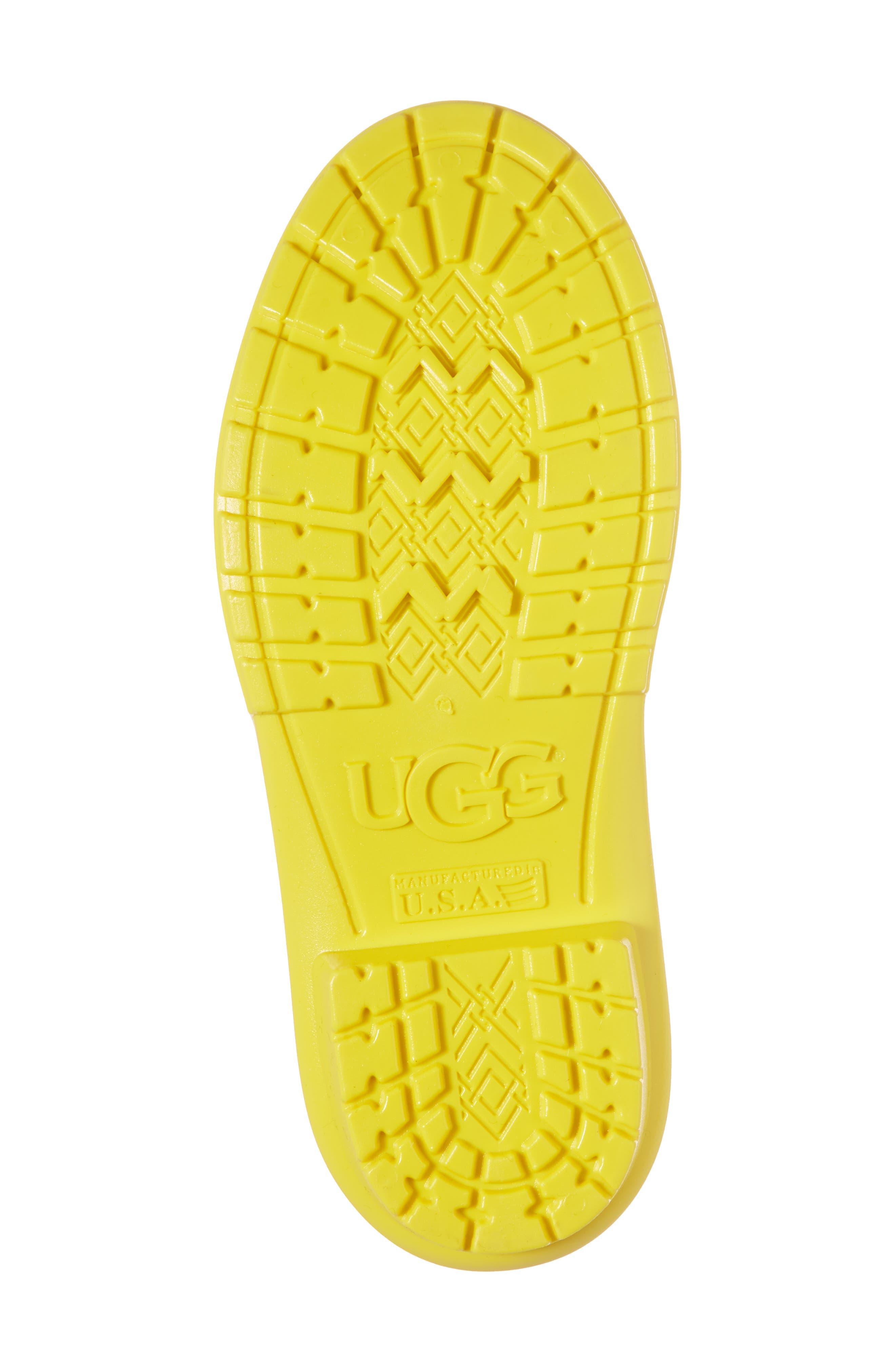 Alternate Image 6  - UGG® Raana Waterproof Rain Boot (Little Kid & Big Kid)