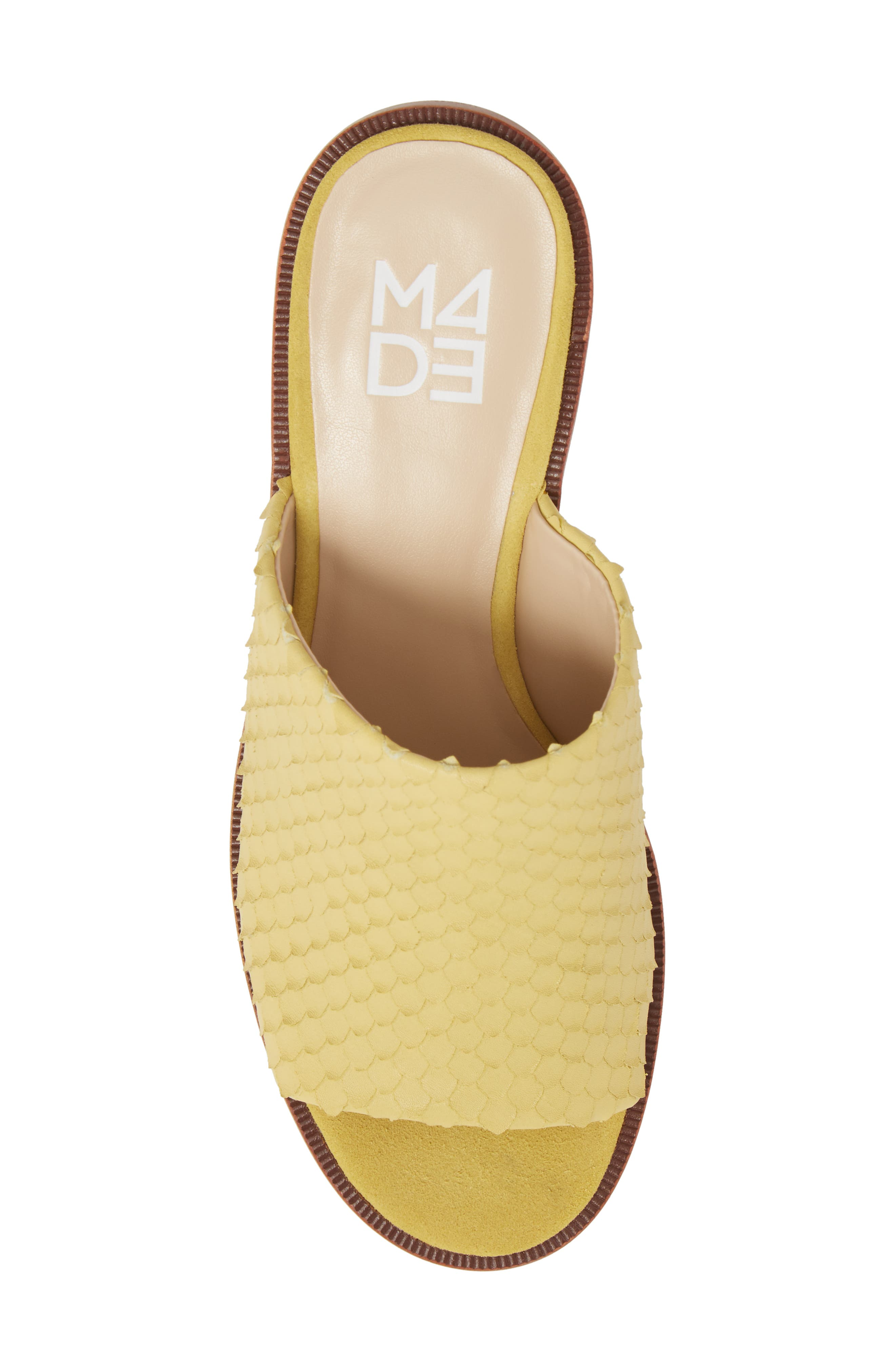 M4D3 Ruse Platform Mule,                             Alternate thumbnail 5, color,                             Zest Leather