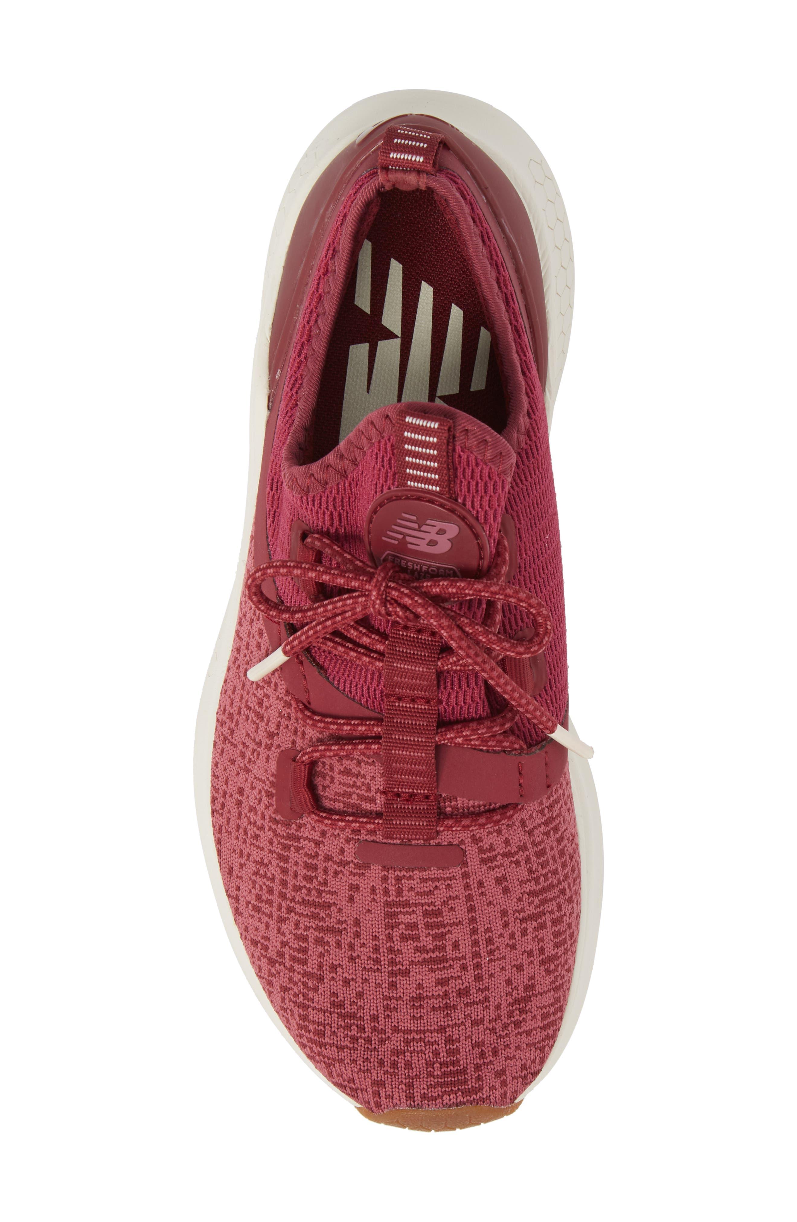 Fresh Foam Lazr Sport Running Shoe,                             Alternate thumbnail 5, color,                             Purple