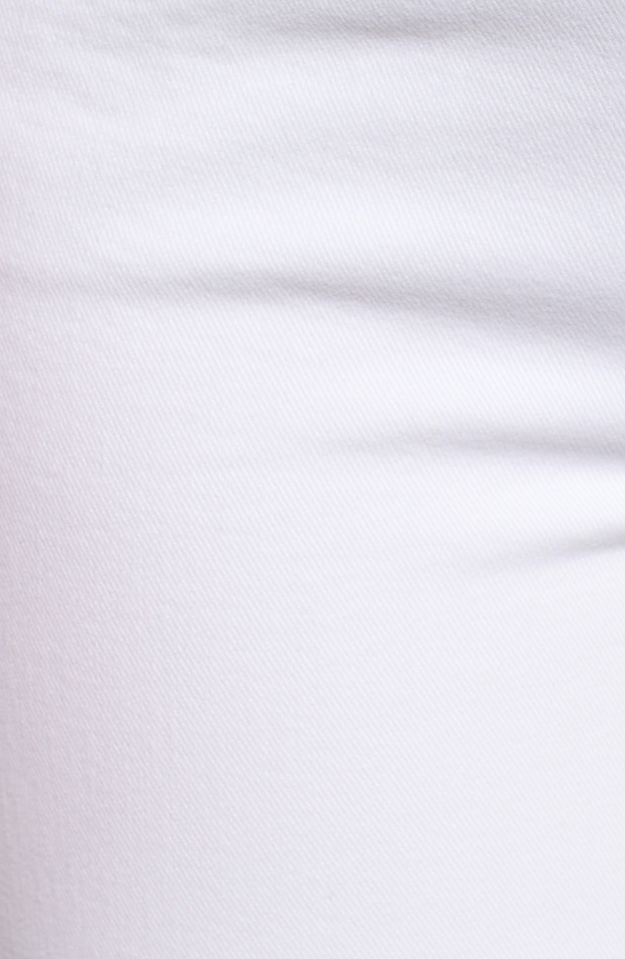 Skyline Ankle Peg Skinny Jeans,                             Alternate thumbnail 6, color,                             Crisp White