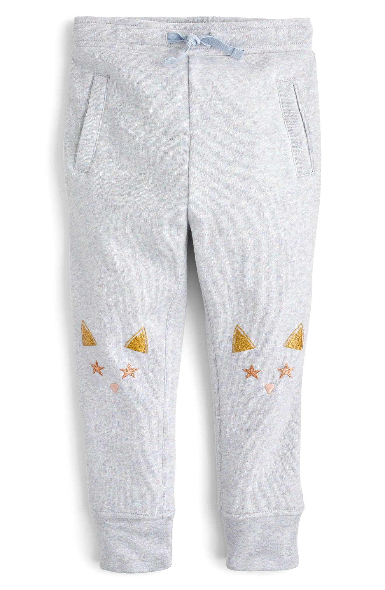 Cat Knee Sweatpants,                             Main thumbnail 1, color,                             Peri Jasmine Multi