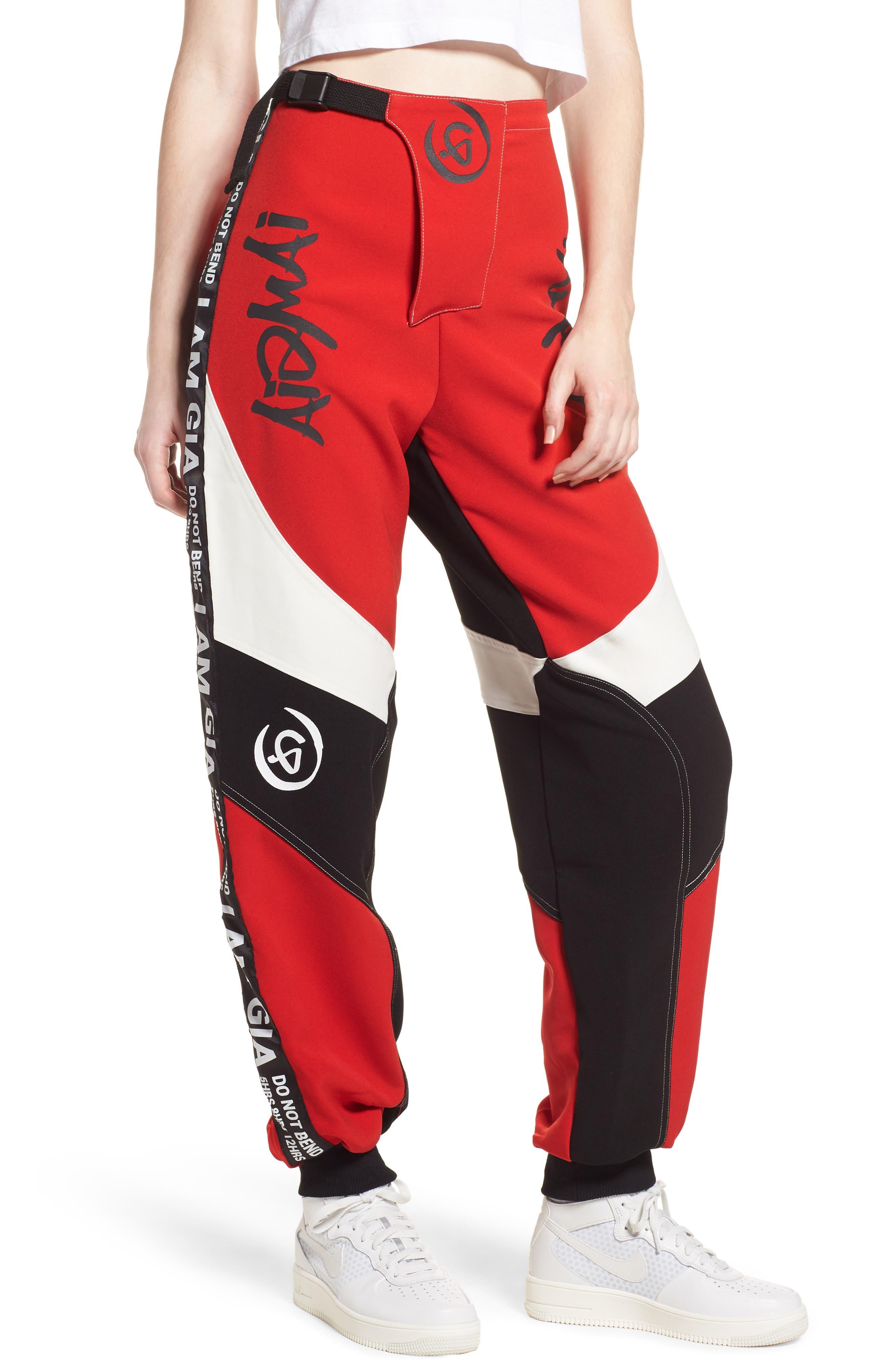 I.AM.GIA Electra Pants,                         Main,                         color, Black